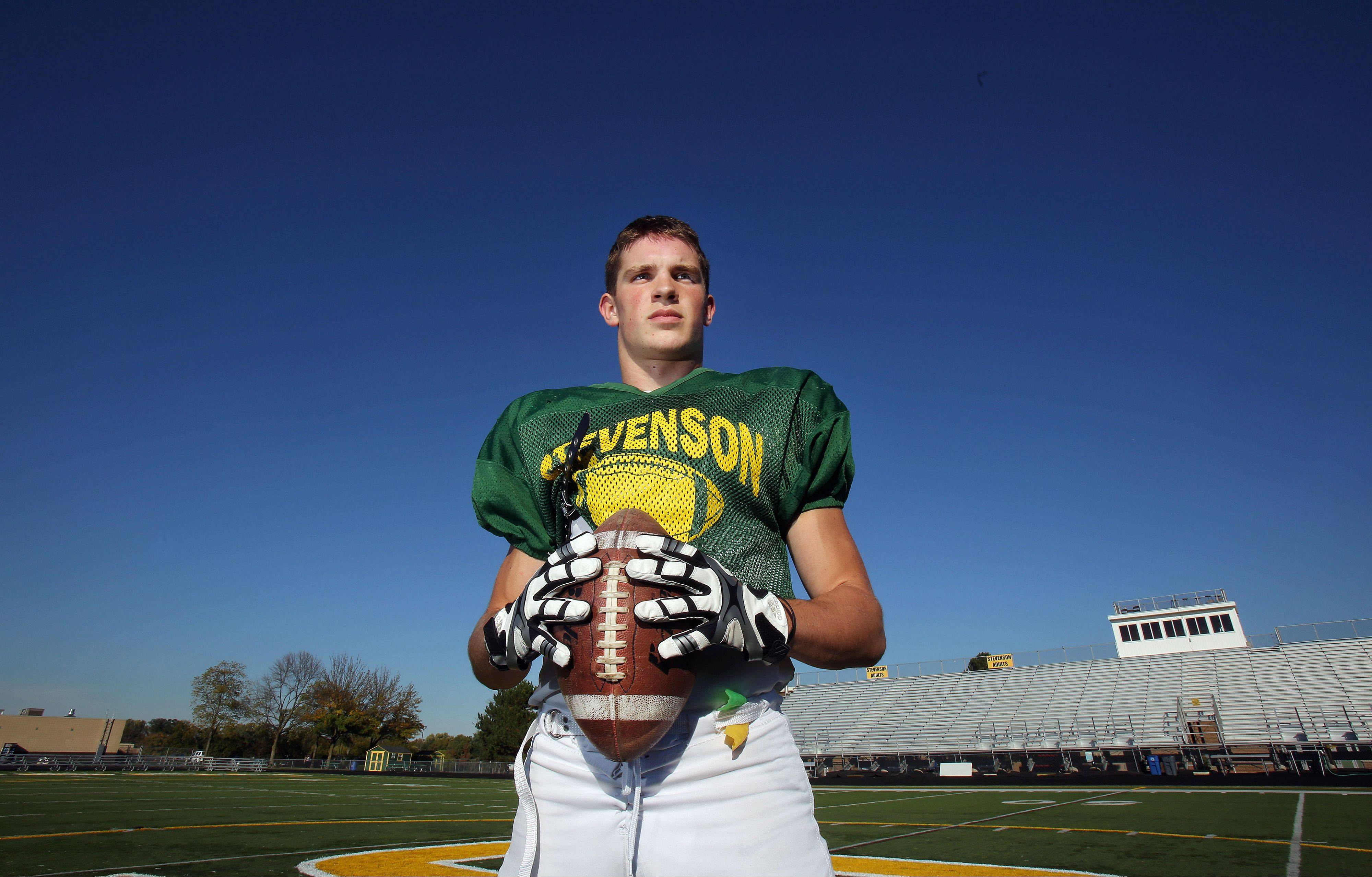 Stevenson receiver and defensive back Matt Morrissey has committed to Michigan State, extending a family legacy of high athletic achievement.