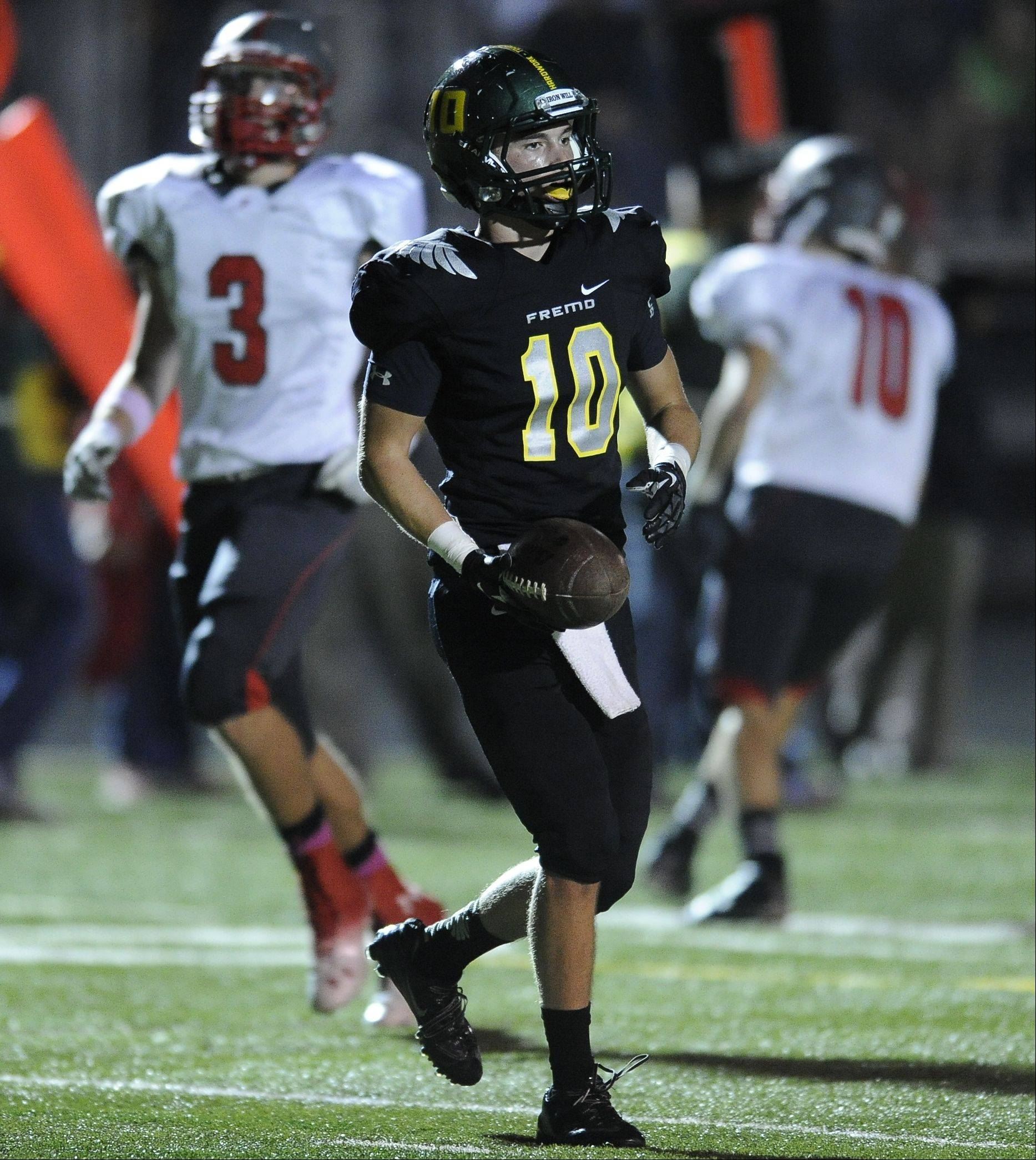 Week -7- Photos from the Palatine vs Fremd football game on Friday, October 11 at Fremd High School.
