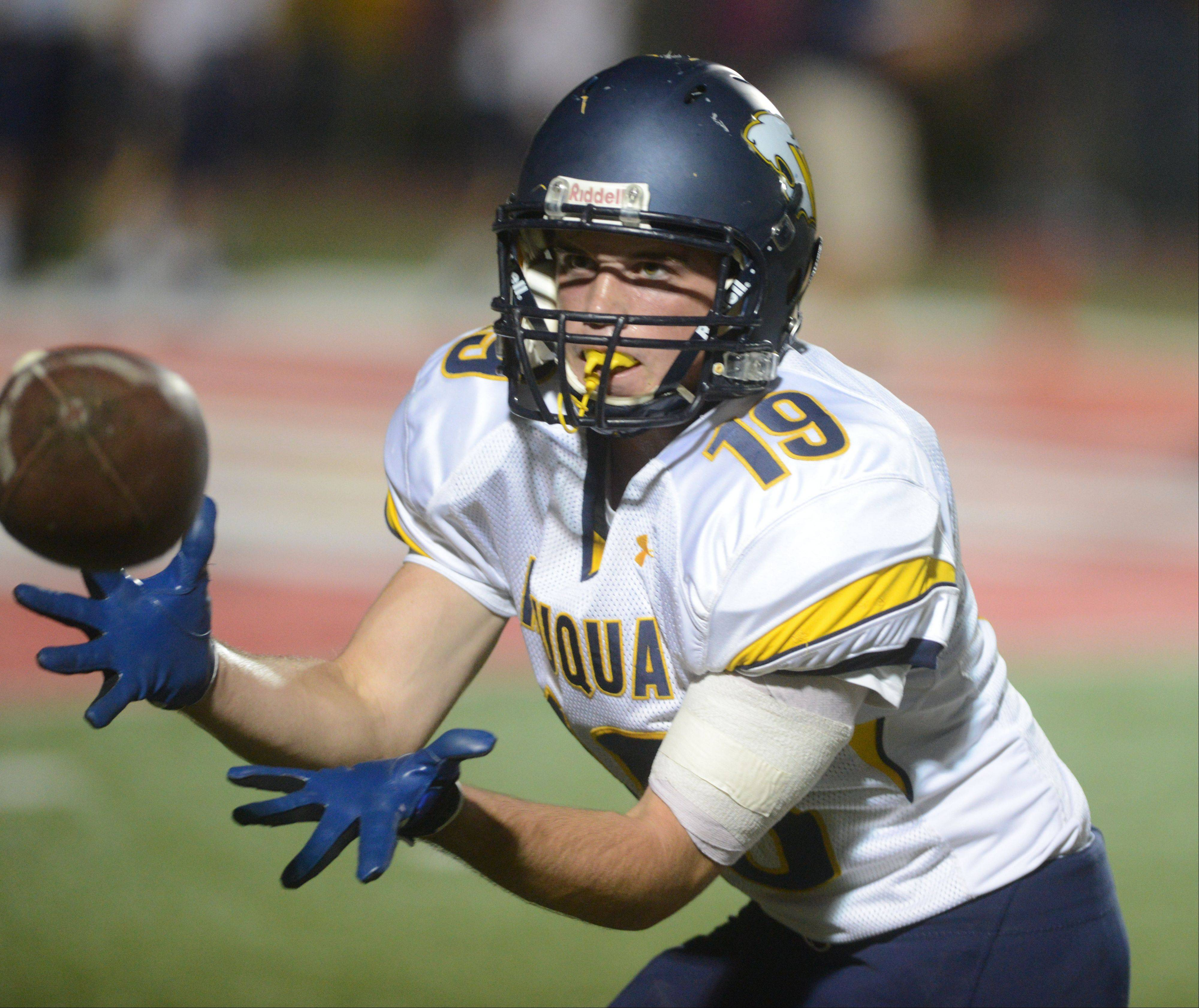Week-7- Photos from the Neuqua Valley vs. Waubonsie Valley football game on Friday, October 11 at North Central College in Naperville.