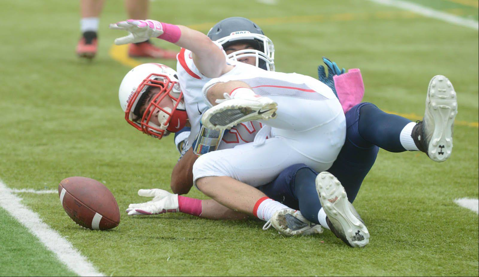 Images: Benet Academy at Nazareth Academy football
