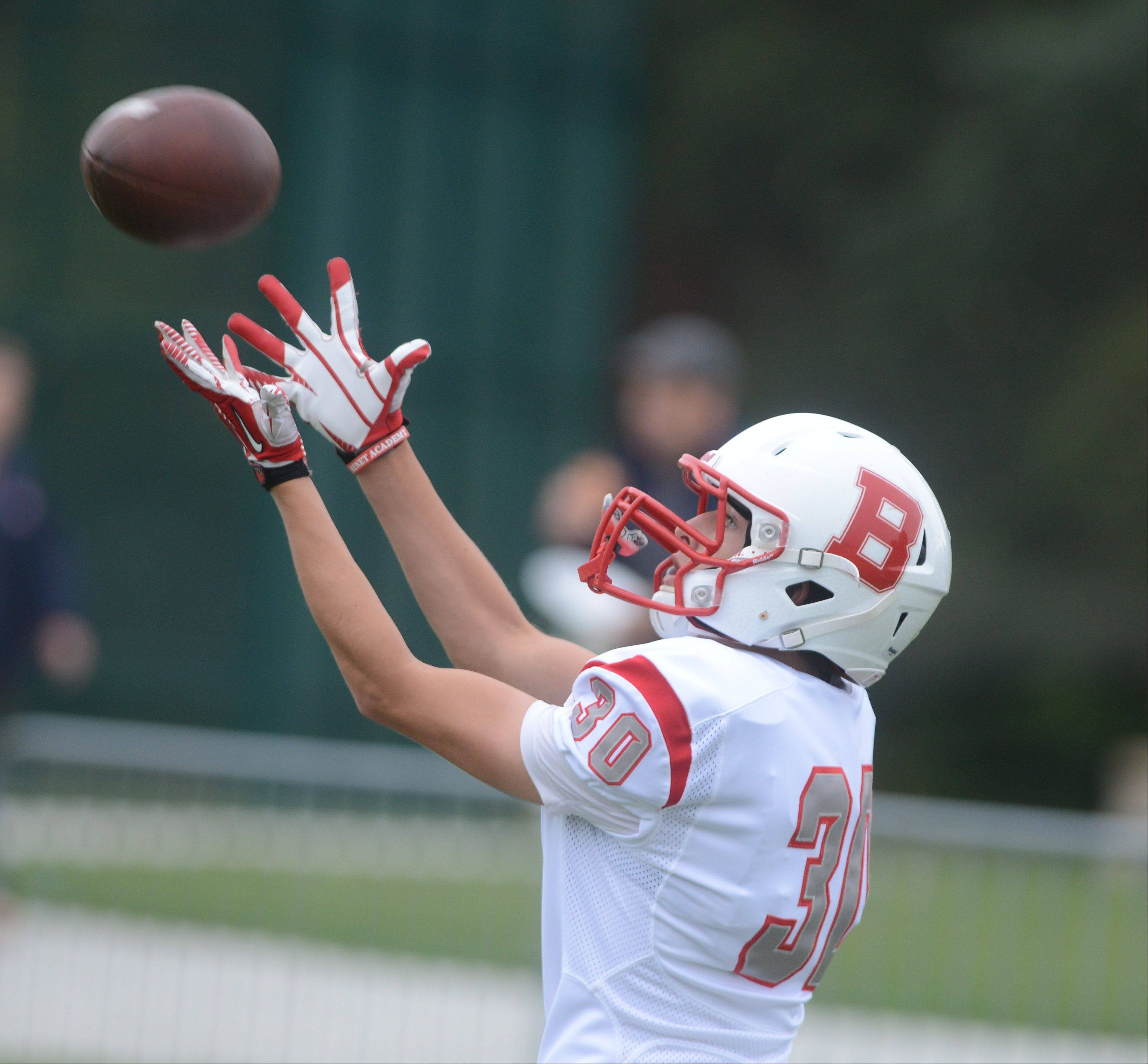 Week-6- Photos from the Benet Academy at Nazareth Academy football game on Saturday, October 12 at Nazareth Academy in LaGrange Park.