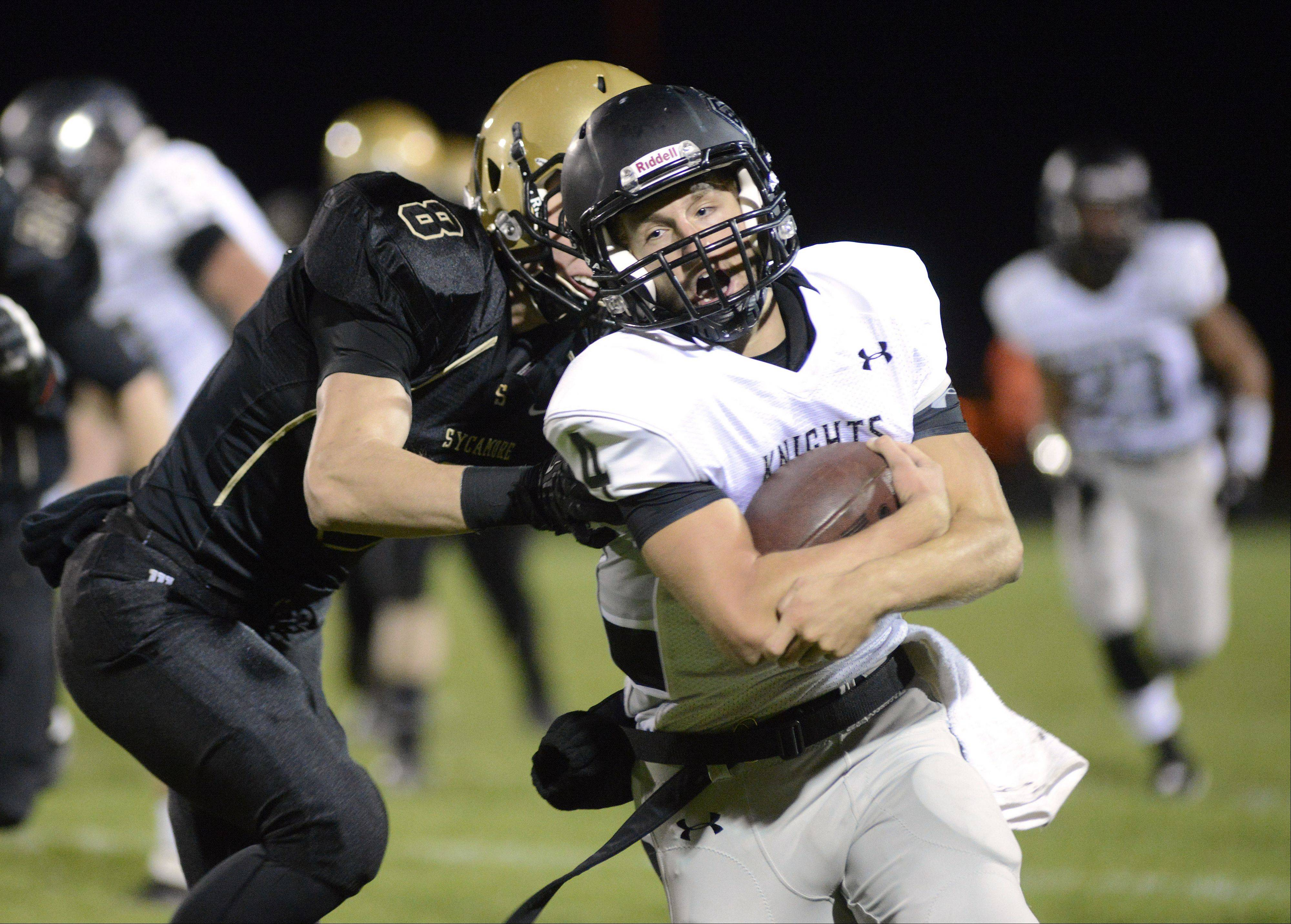 Images: Kaneland vs. Sycamore football