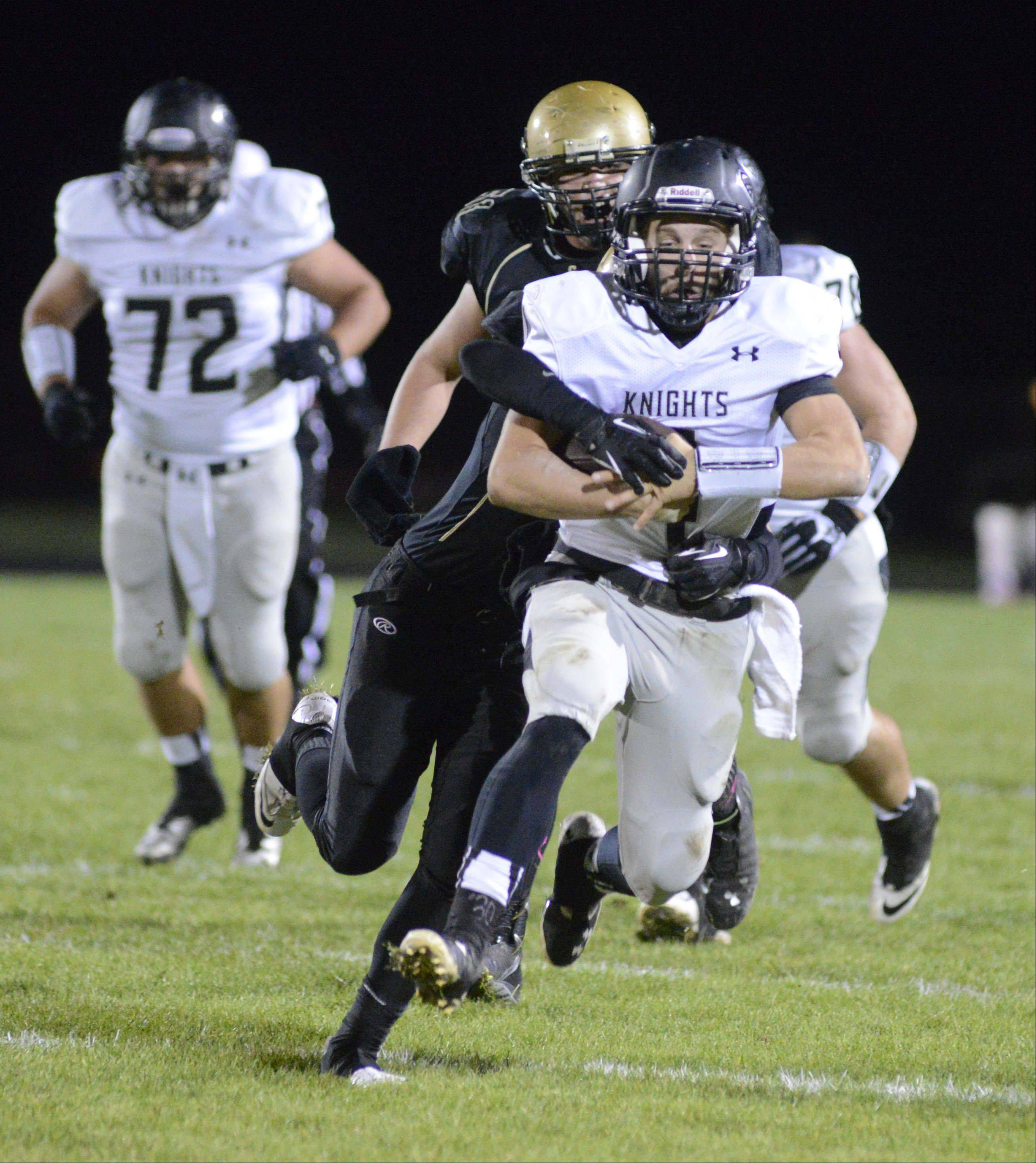 Week 8 - Images from the Kaneland vs. Sycamore football game Friday, October 18, 2013.