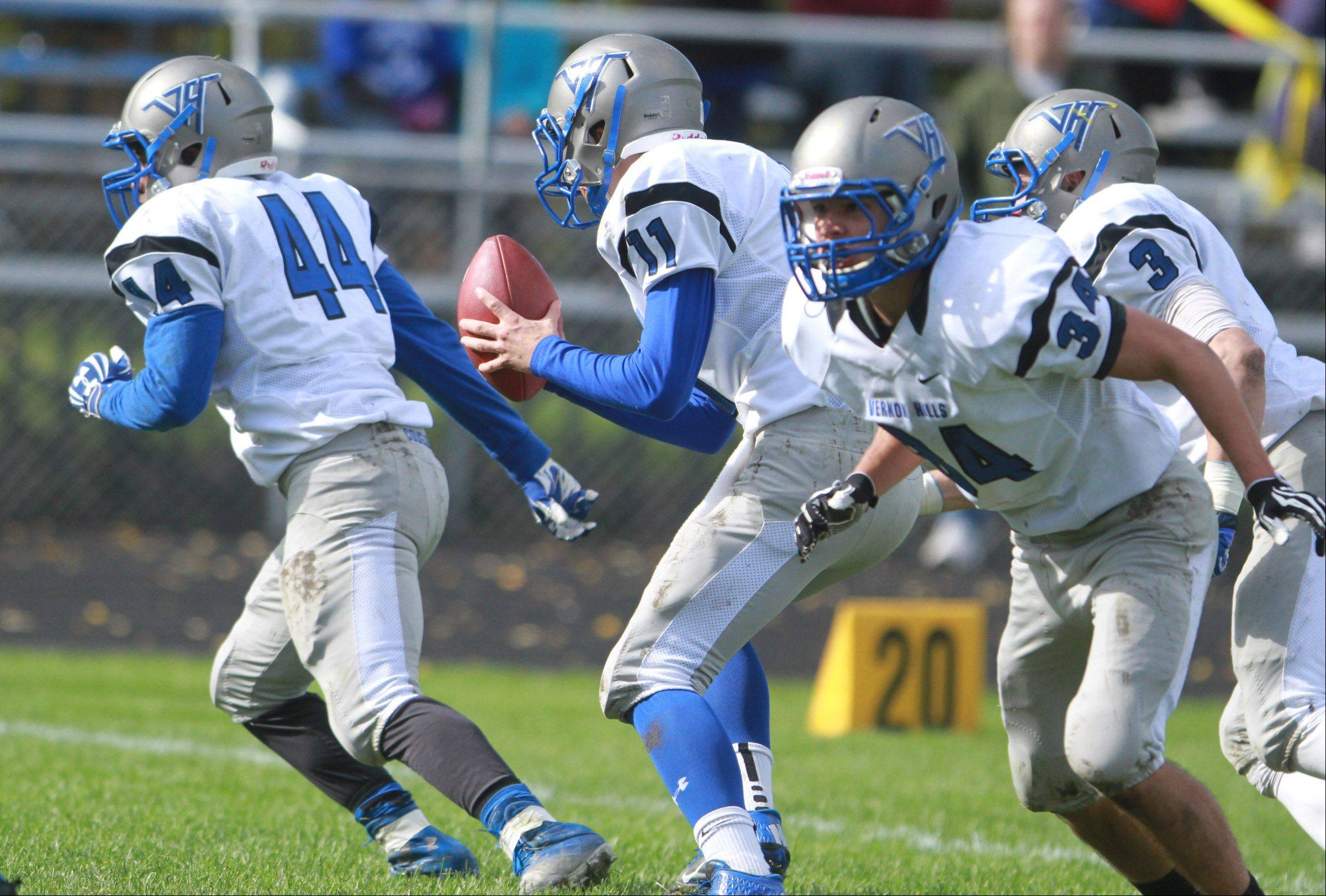 Week -8- Photos from the Vernon Hills at Round Lake football game on Saturday, Oct. 19 in Round Lake.