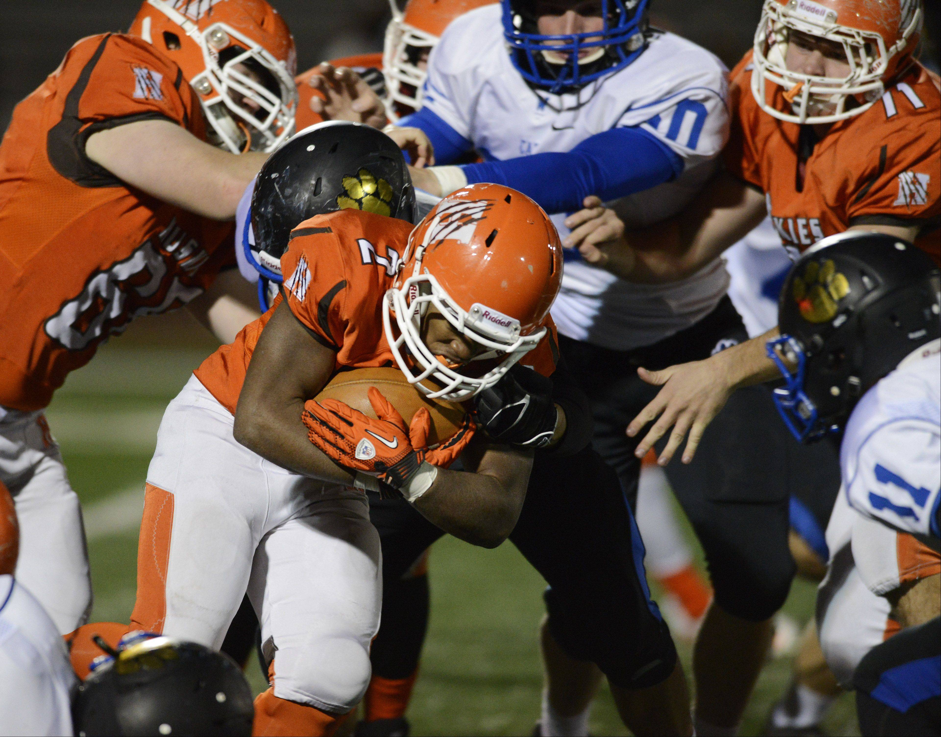 Images: Hersey vs. Wheeling football