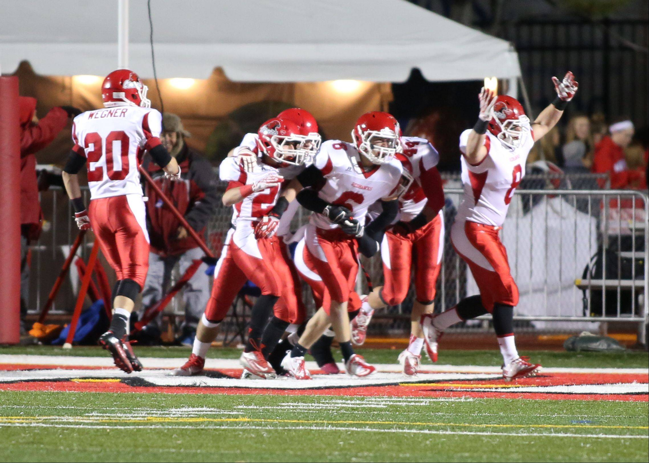 Week -9- Photos from the Naperville North vs. Naperville Central football game on Friday, Oct. 25 at North Central College.