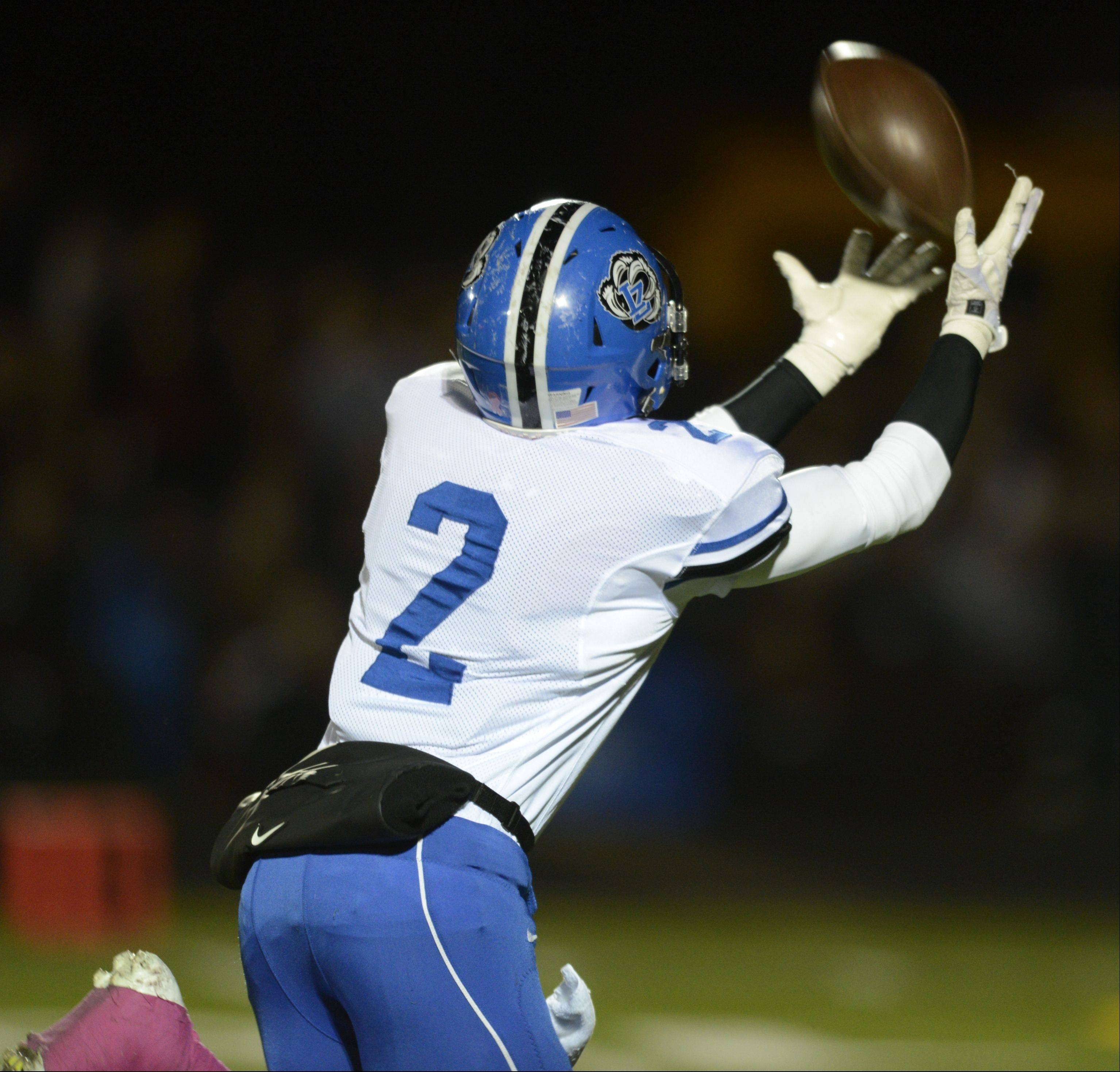 Week -9- Photos from the Lake Zurich at Stevenson football game on Friday, Oct. 25 in Lincolnshire.