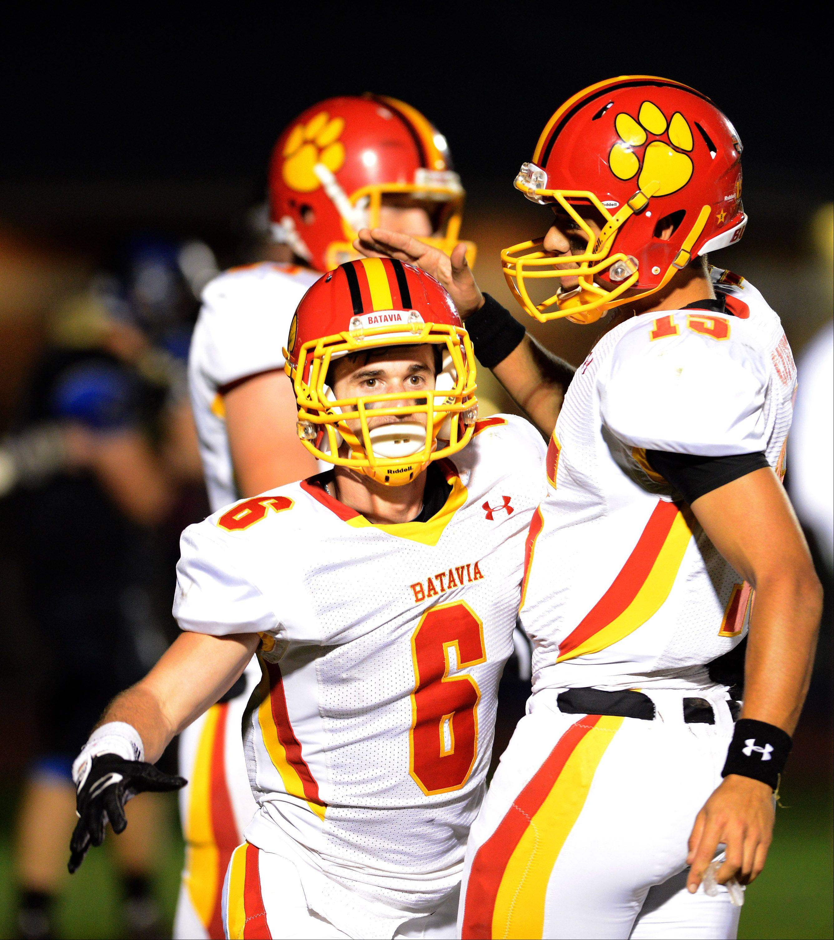Week 7 � Images from the Batavia vs. St. Charles North football game Friday, October 11, 2013.