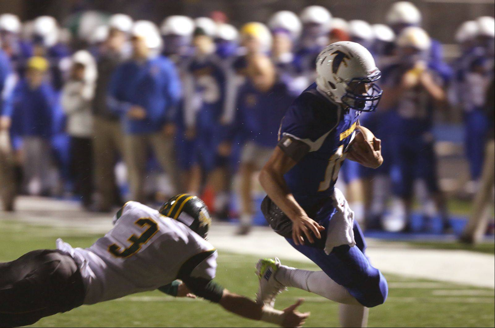 Images: Glenbrook North at Wheaton North playoff football