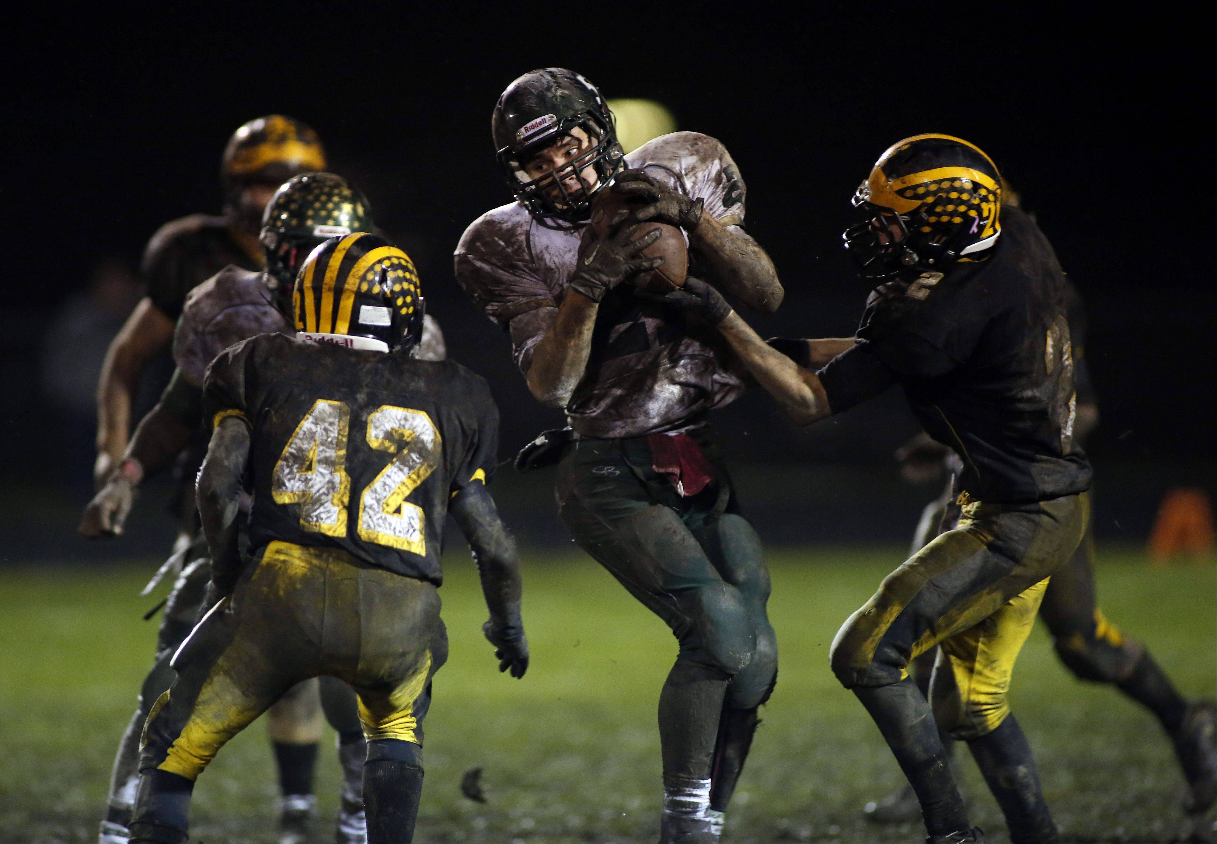 Images: Harvard vs. St. Edward football