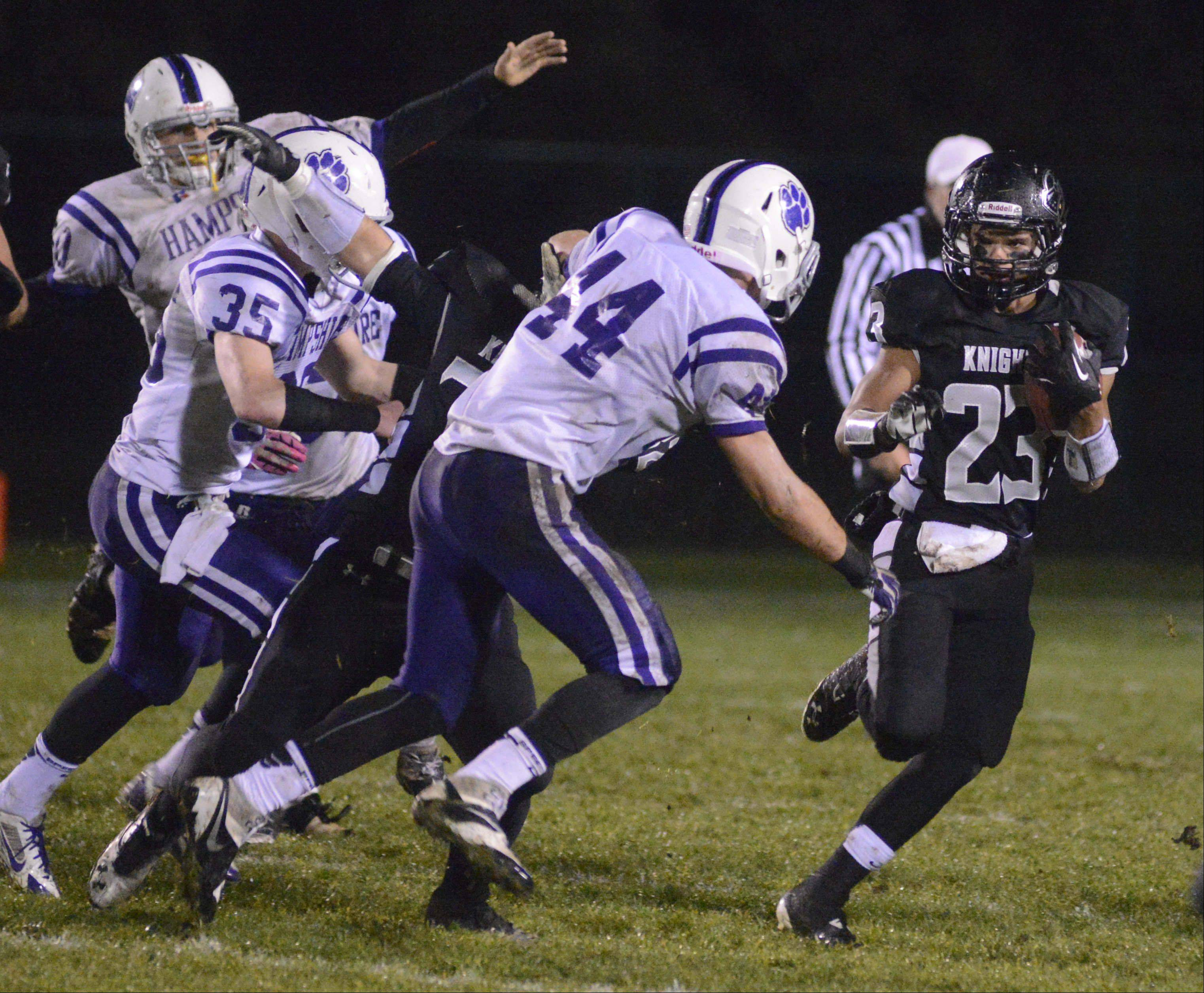 Playoffs - Round One - Images from the Hampshire vs. Kaneland football game Friday, November 1, 2013.