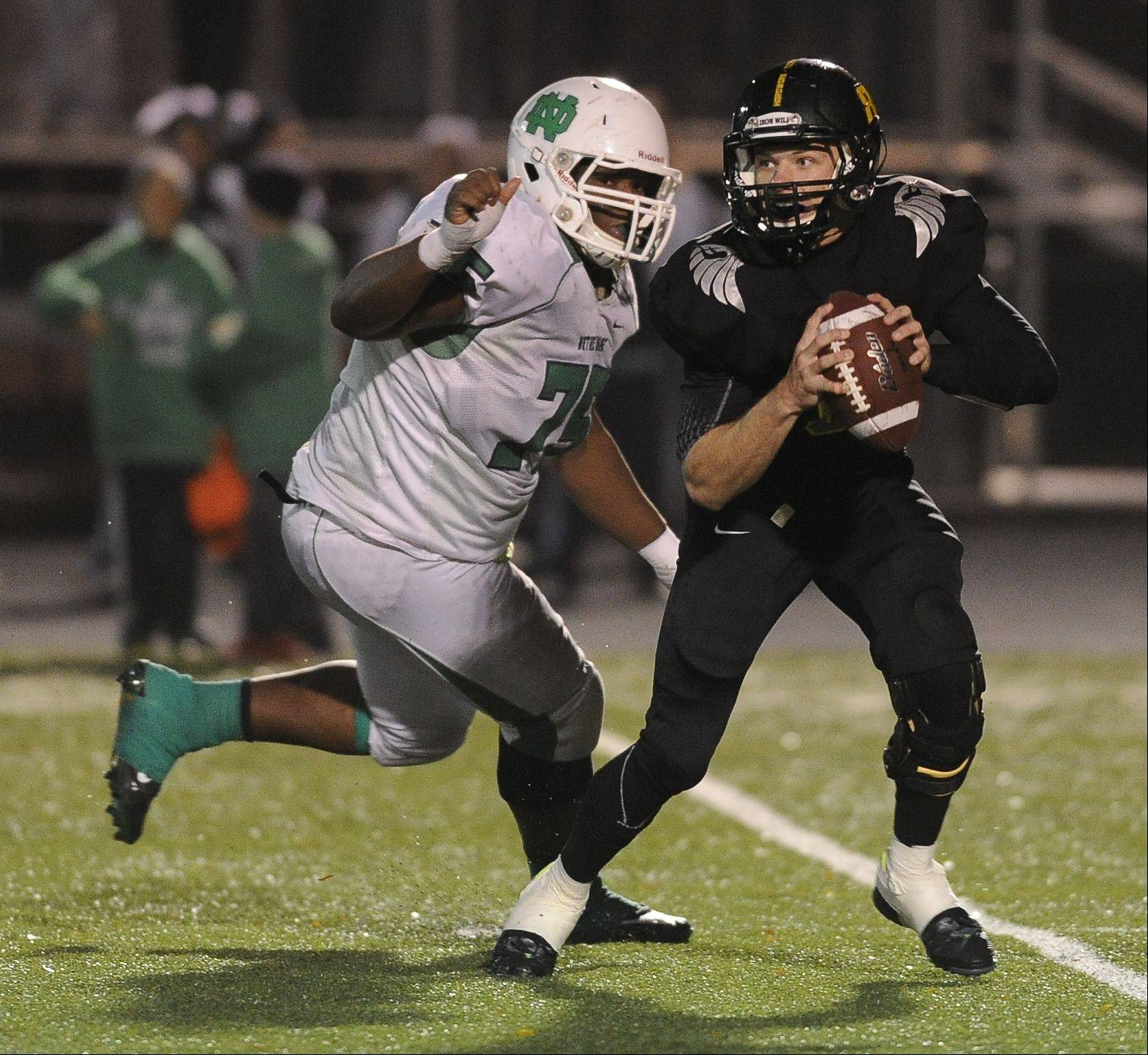 Round One - Photos from the Fremd vs. Notre Dame playoff football game on Friday, November 1st, in Palatine.