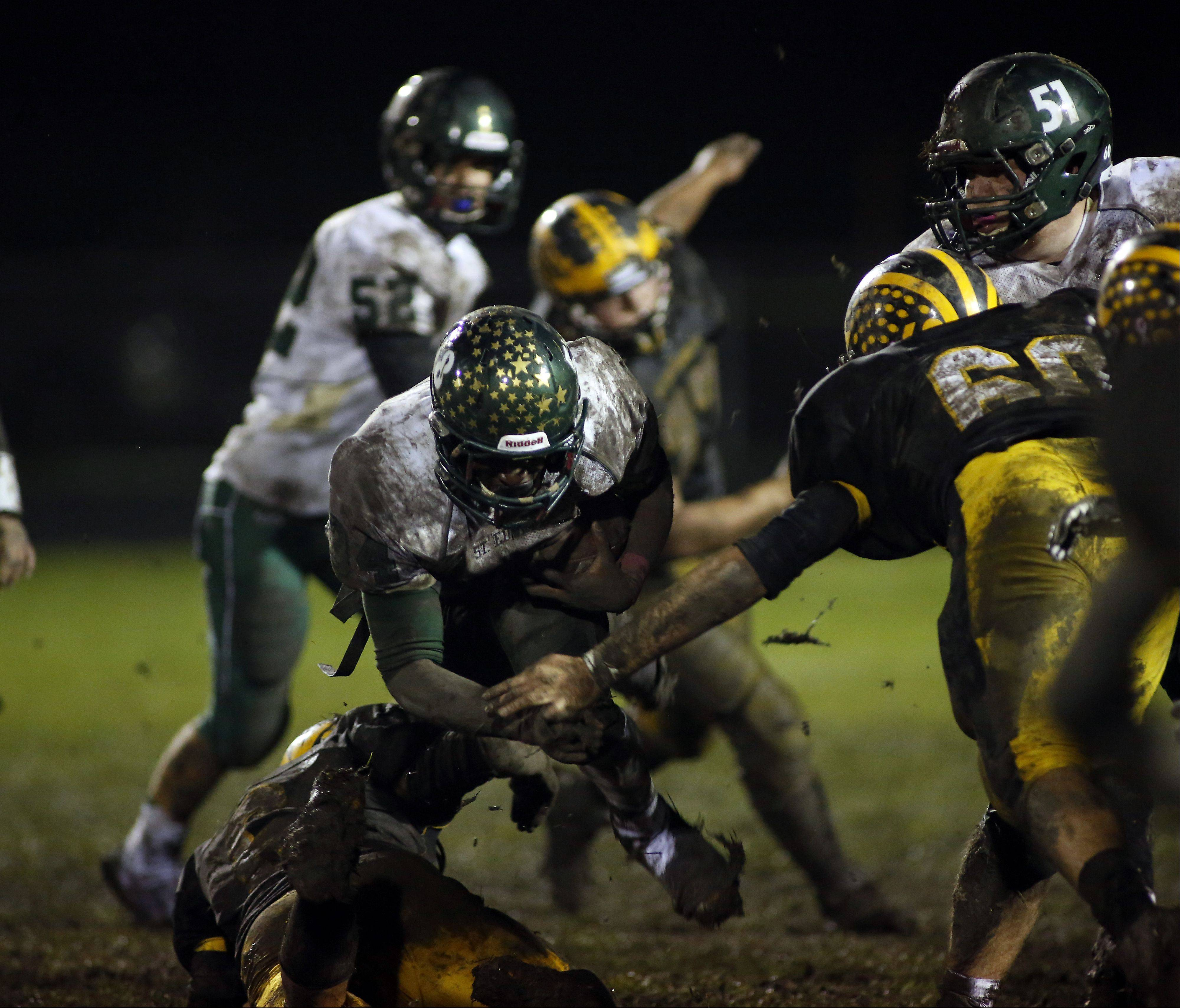 Playoffs - Round One - Images from the St. Edward vs. Harvard football game Friday, November 1, 2013.