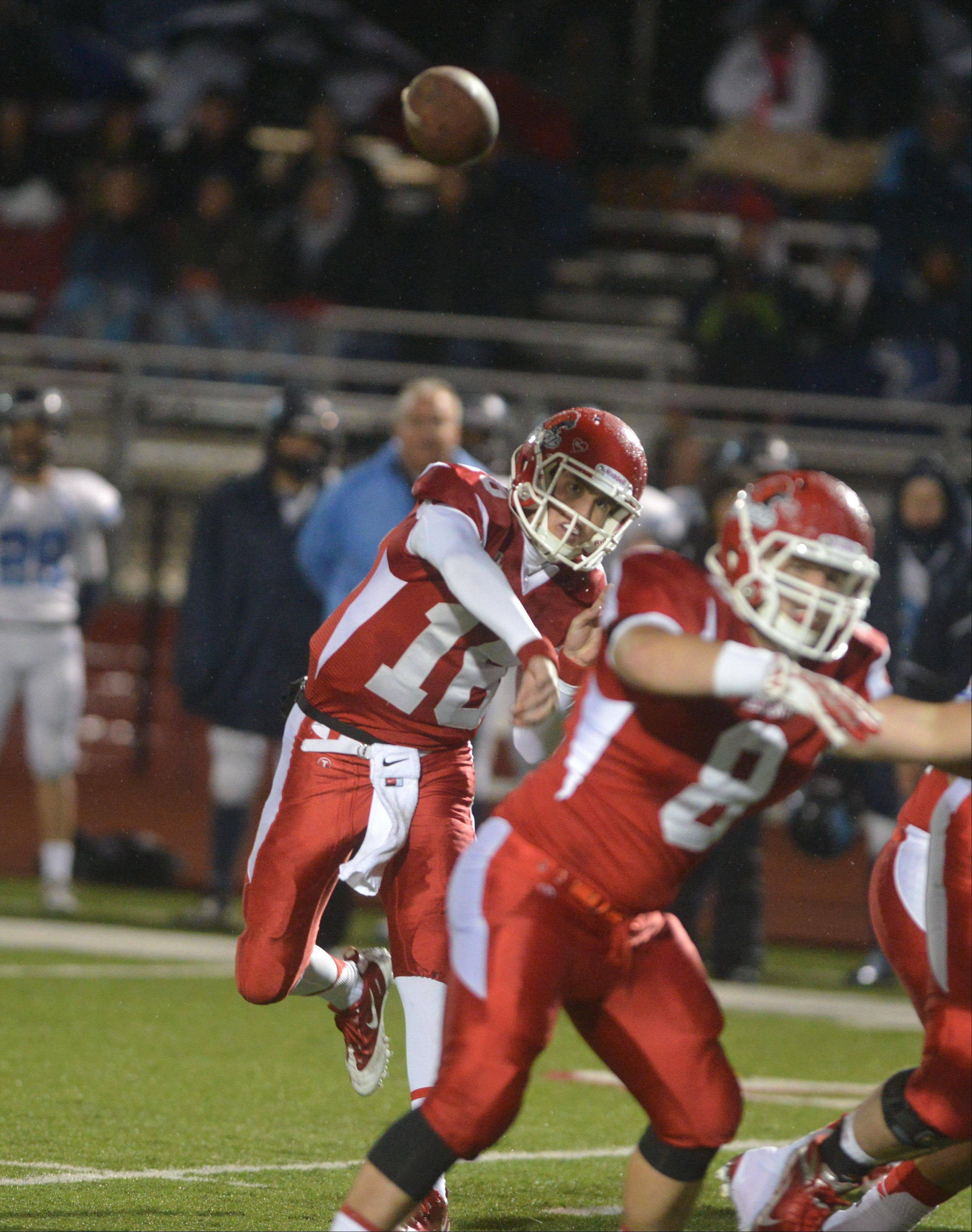 Playoffs -Round One- Photos from the Downers Grove South at Naperville Central football game on Friday, Nov. 1.