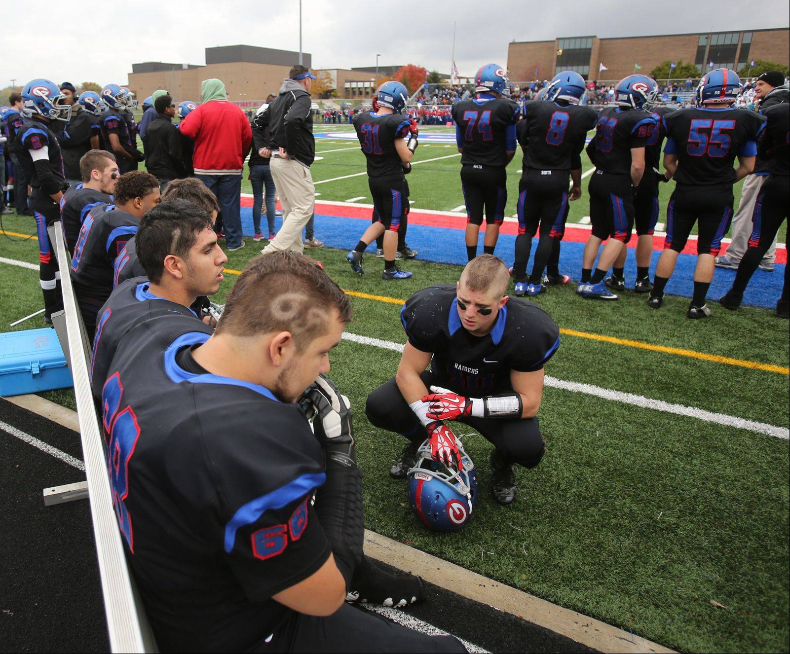 Playoffs -Round One- Photos from the St. Francis at Glenbard South football game on Saturday, Nov. 2.