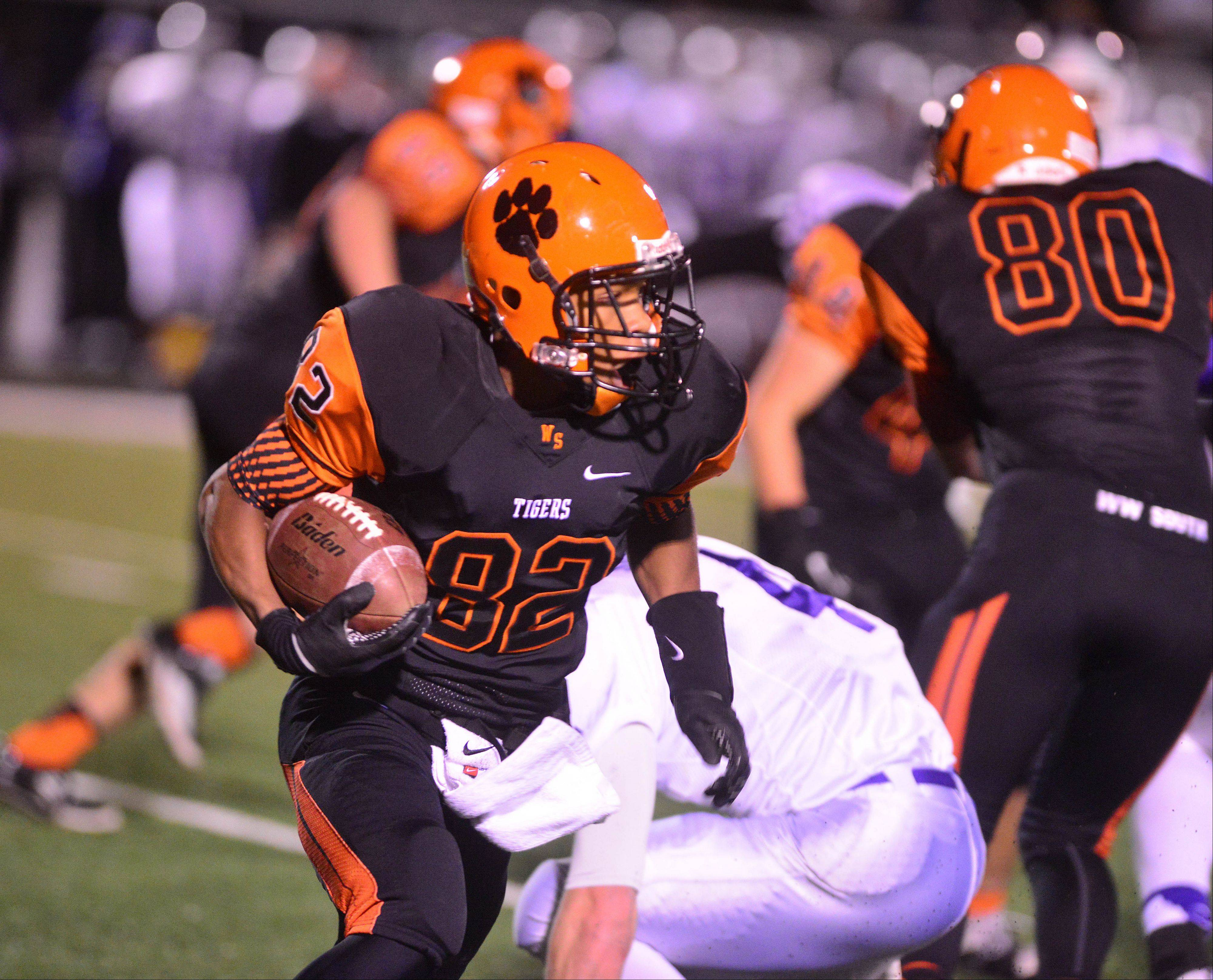 Images: Wheaton Warrenville South vs. Downers Grove North Playoff Football
