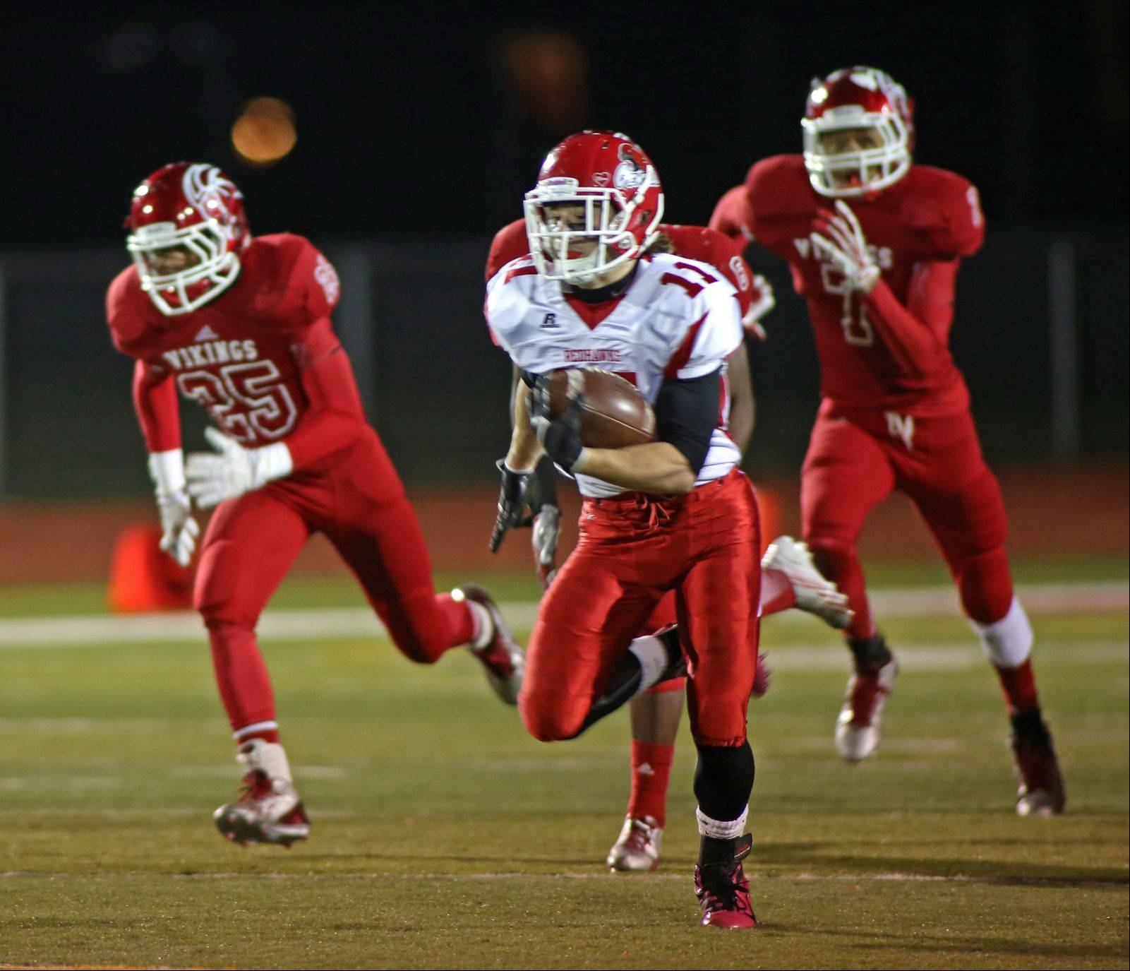Images: Naperville Central vs. Homewood-Flossmoor Playoff Football