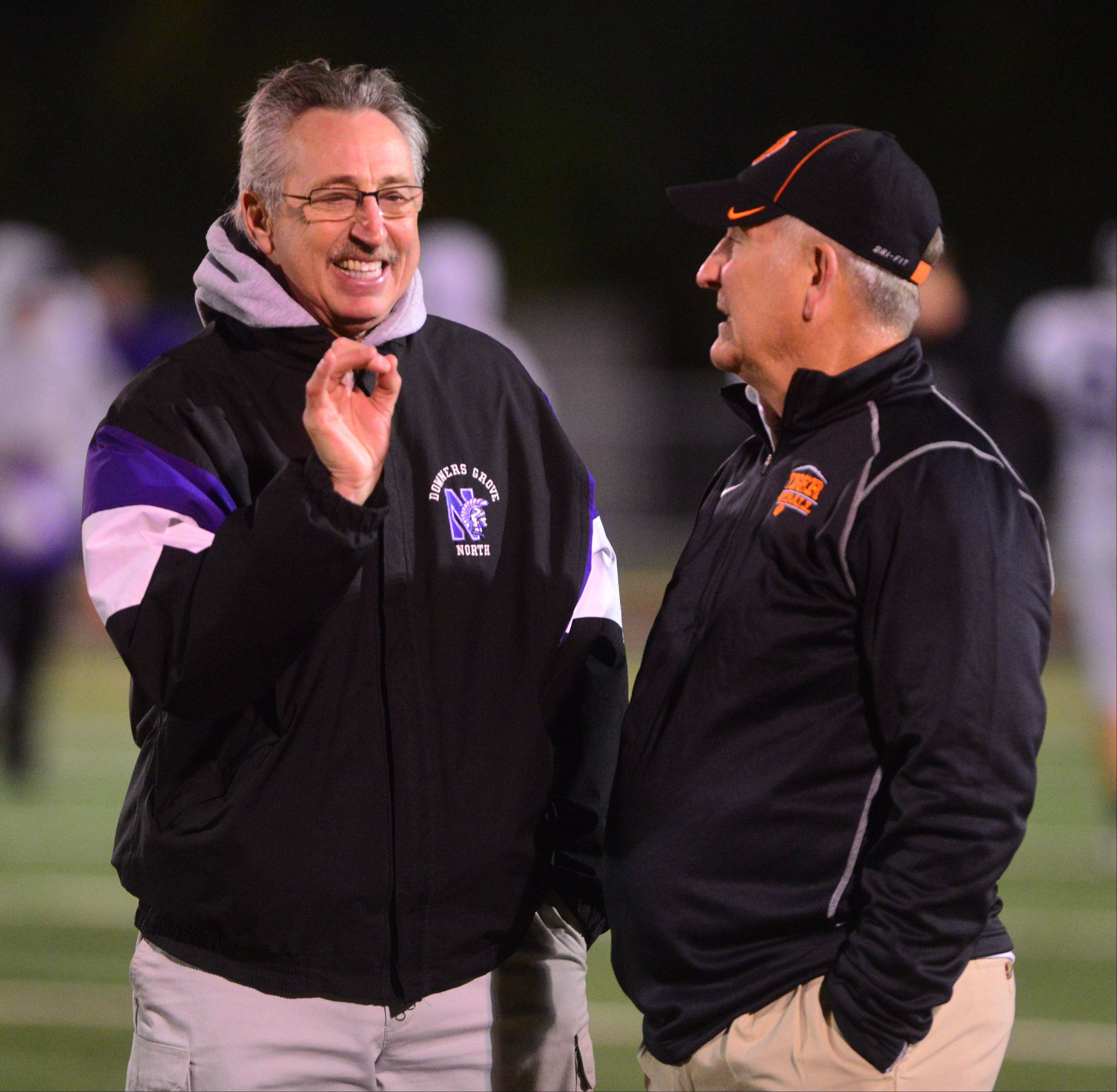 Playoffs -Round Two- Photos from the Downers Grove North vs. Wheaton Warrenville South football game in Wheaton on Friday, Nov. 8.