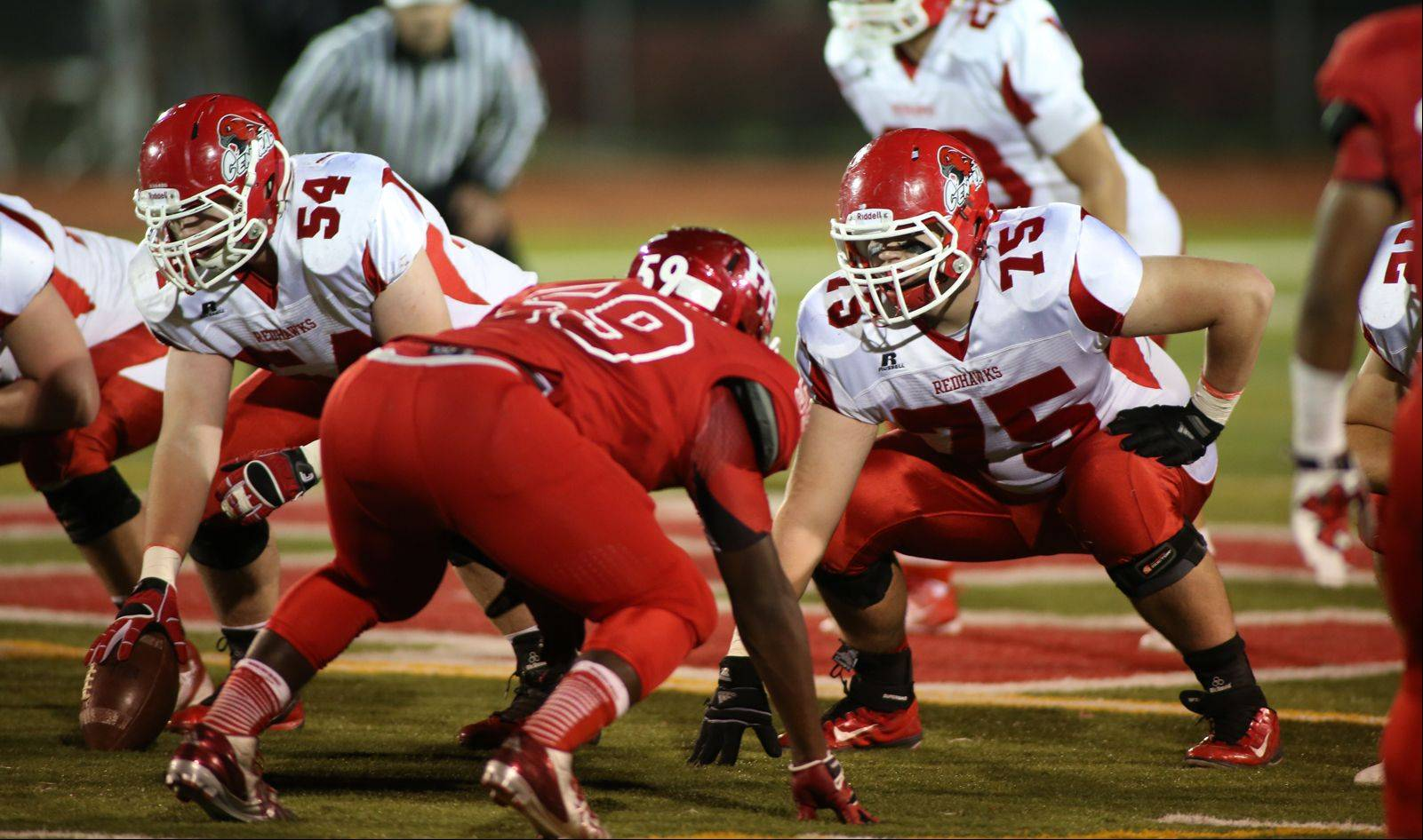 Playoffs -Round Two- Photos from the Naperville Central vs. homewood-Flossmoor football game in Flossmoor on Friday, Nov. 8.