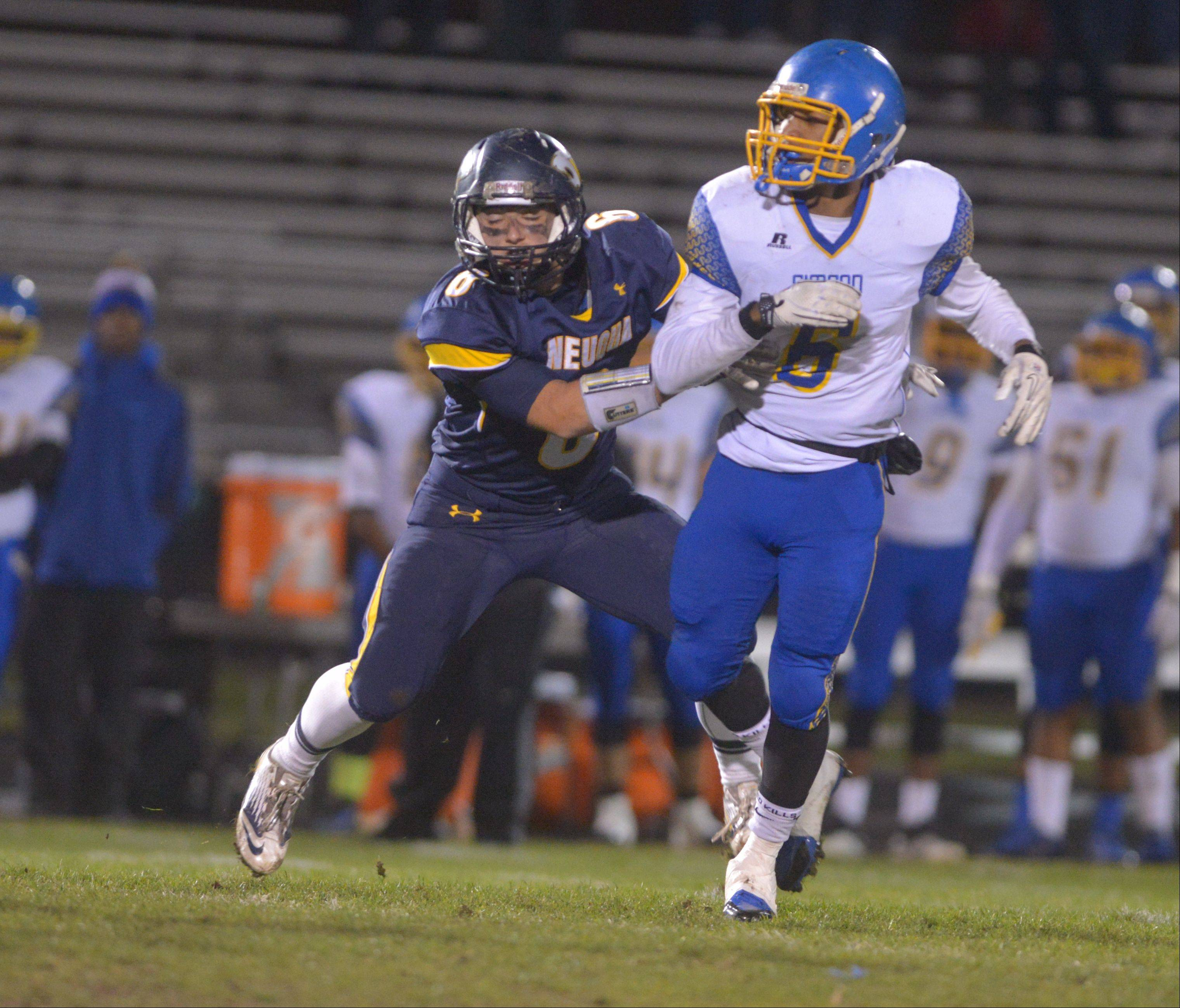 Playoffs -Round Two- Photos from the Simeon vs. Neuqua Valley football game in Naperville on Saturday, Nov. 9.
