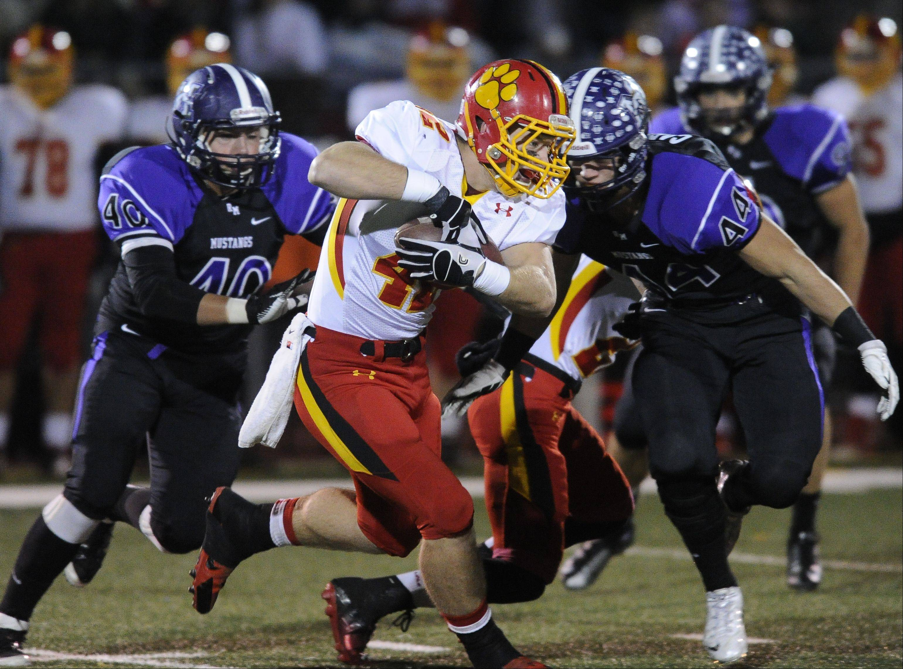 Playoffs-Round Two - Photos from the Rolling Meadows vs Batavia 6A playoff football game on Saturday, November 9th, in Rolling Meadows.