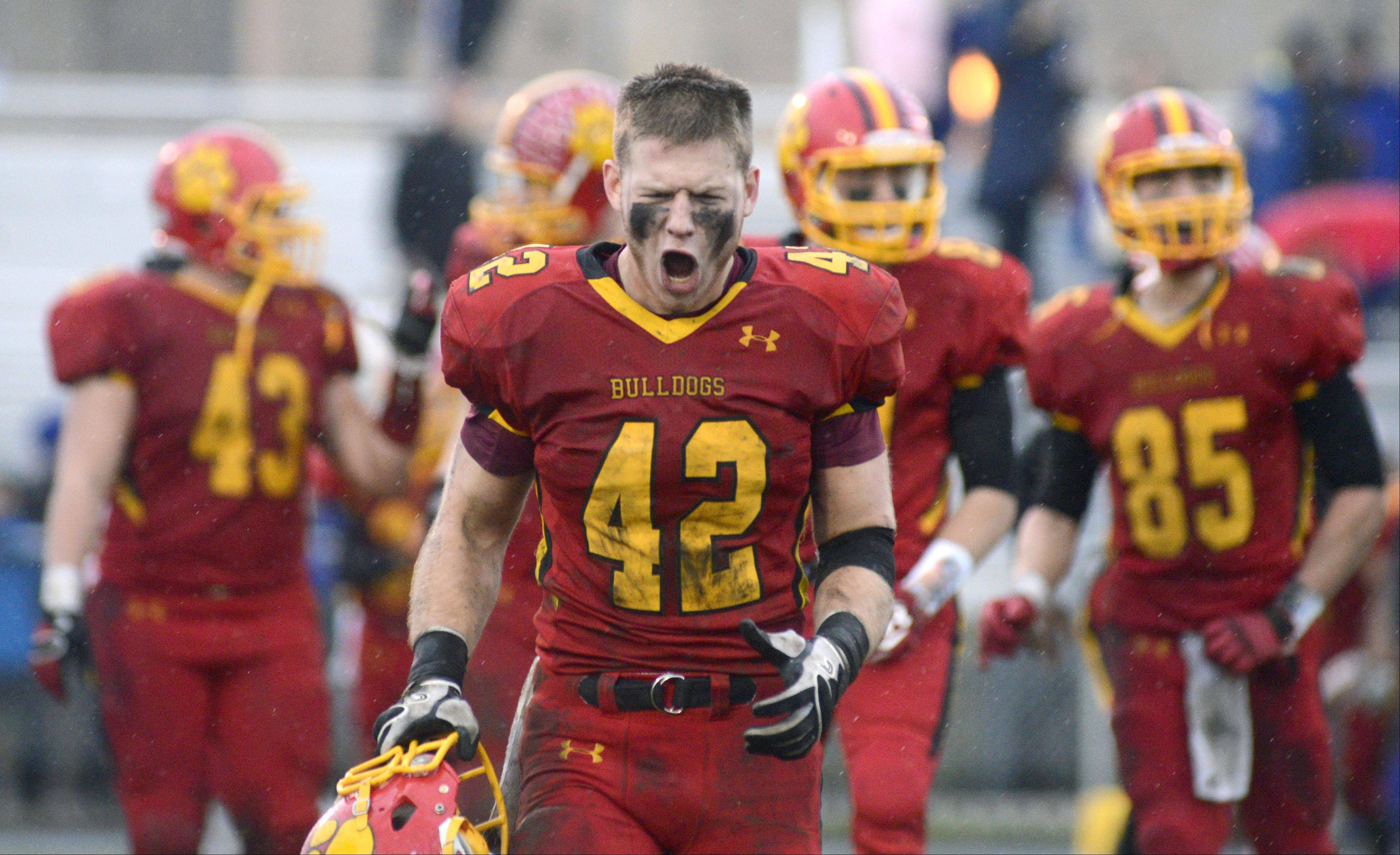 Images: Lake Forest vs. Batavia playoff football