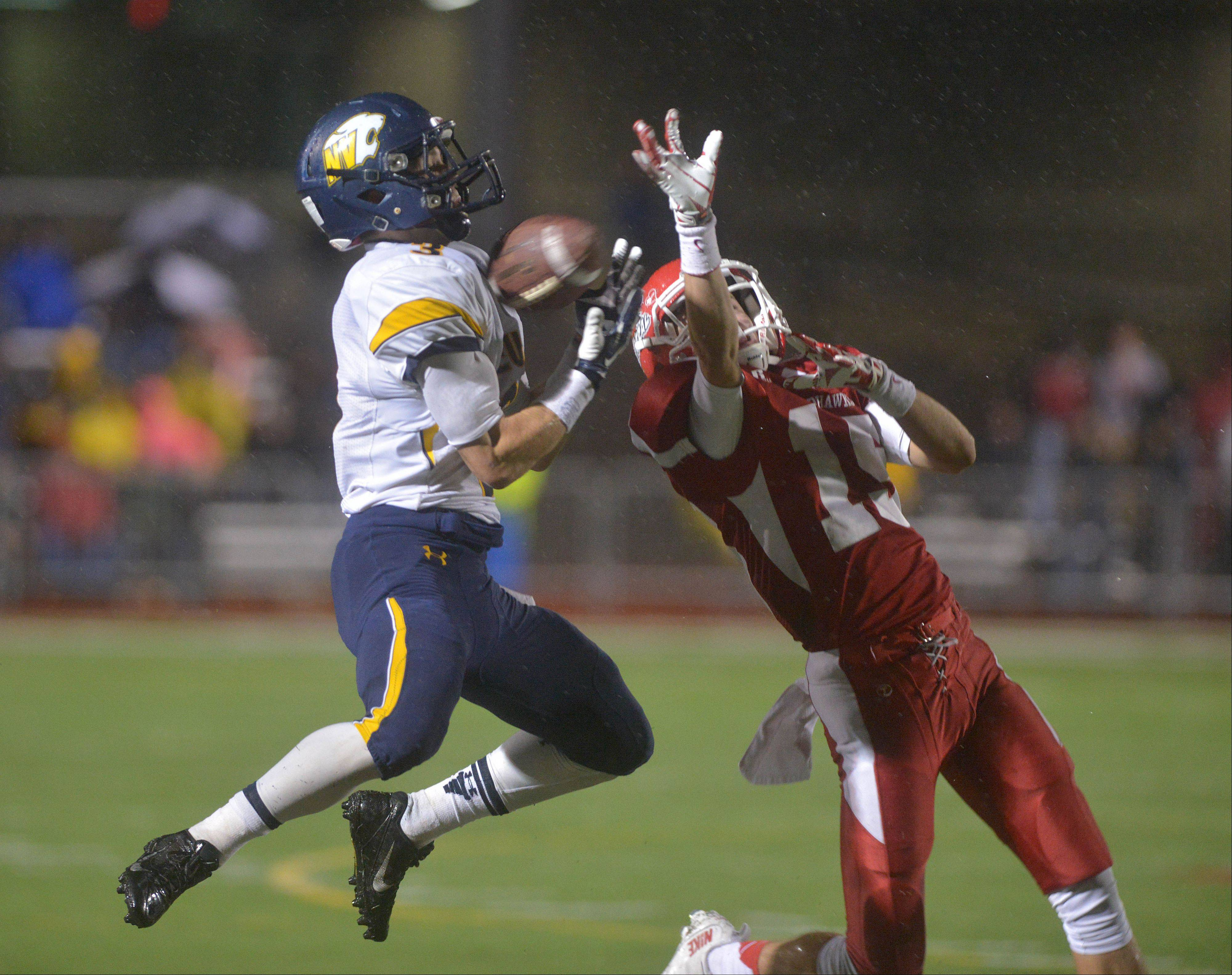 Images: Neuqua Valley at Naperville Central football playoffs