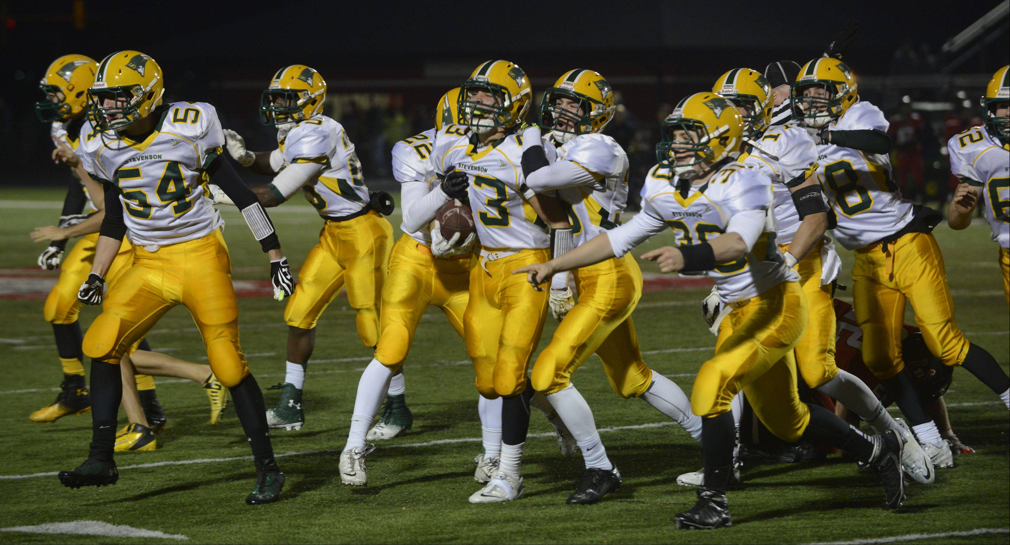 Playoffs - Quarterfinal - Photos from the Stevenson at Barrington Class 8A football playoff game on Saturday, Nov. 16.