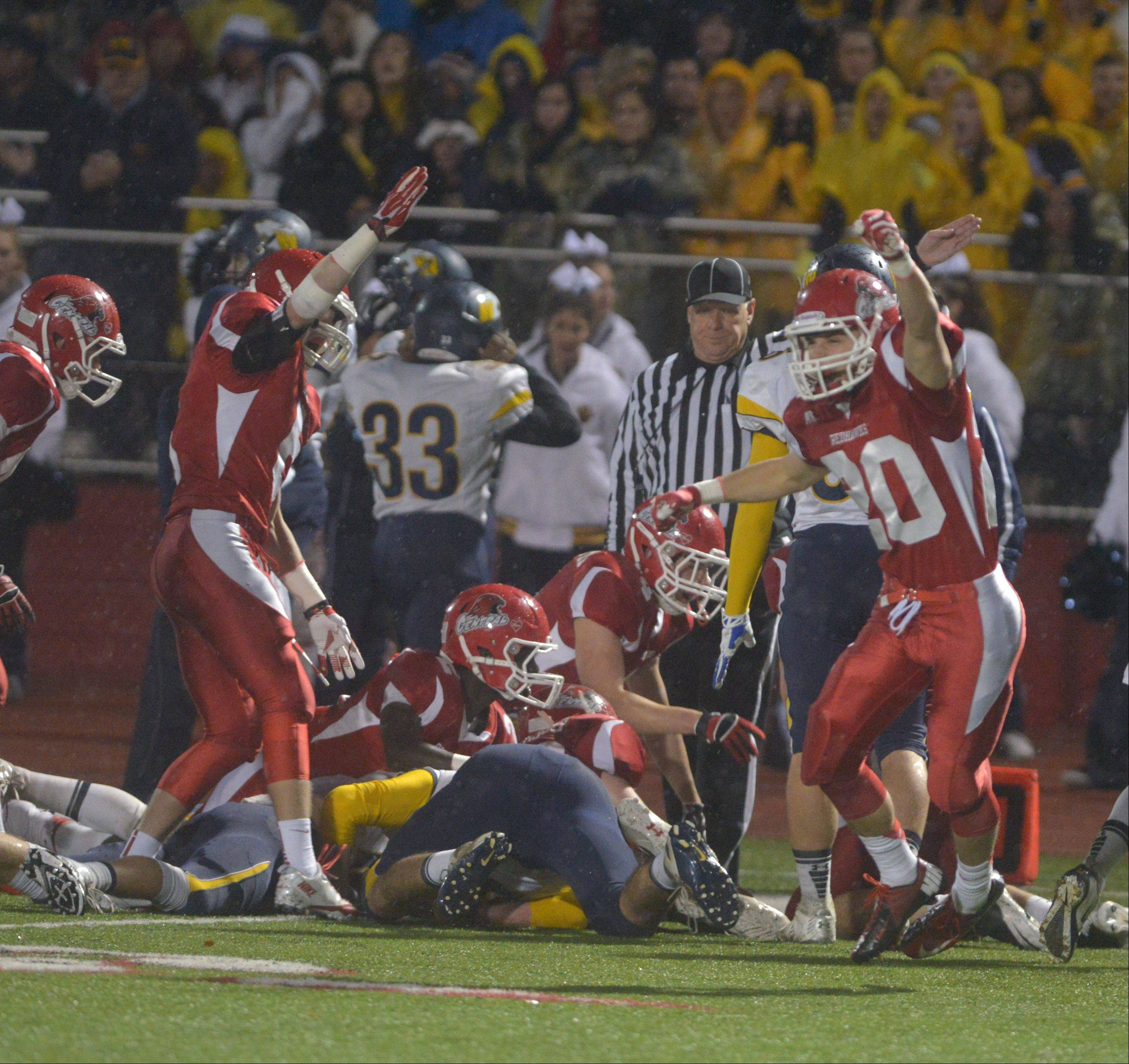 Playoffs -Quarterfinal- Photos from the Neuqua Valley at Naperville Central football game in Naperville on Saturday, Nov. 16.
