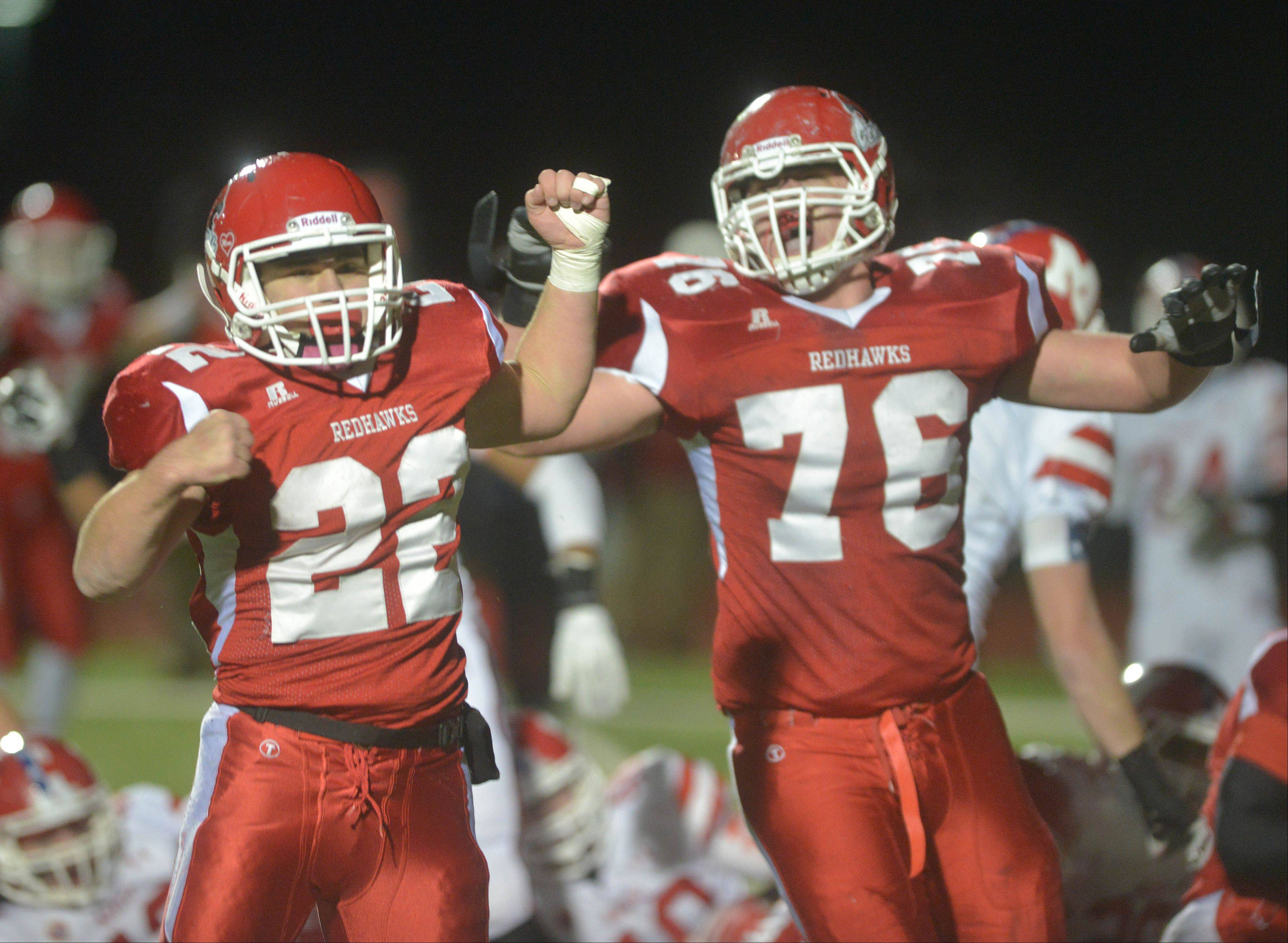 Images: Marist at Naperville Central Class 8A semifinal football playoffs