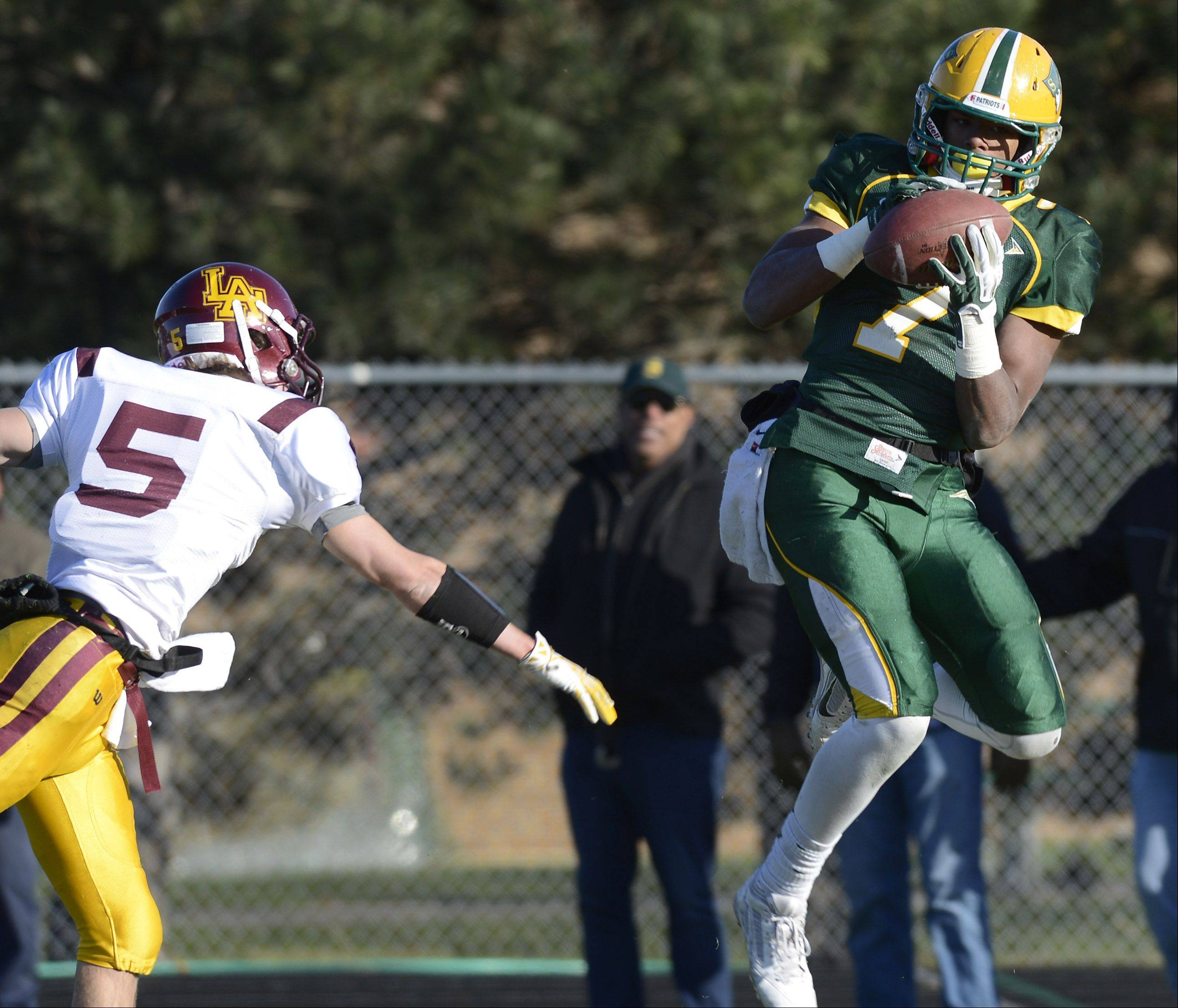Images: Stevenson vs. Loyola Academy football