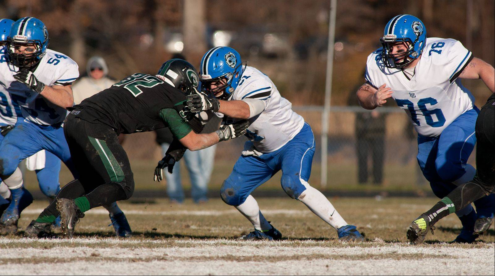 Playoffs -Semifinal- Photos from the Lake Zurich at Glenbard West 7A playoff football game in Glen Ellyn on Saturday, Nov. 23.