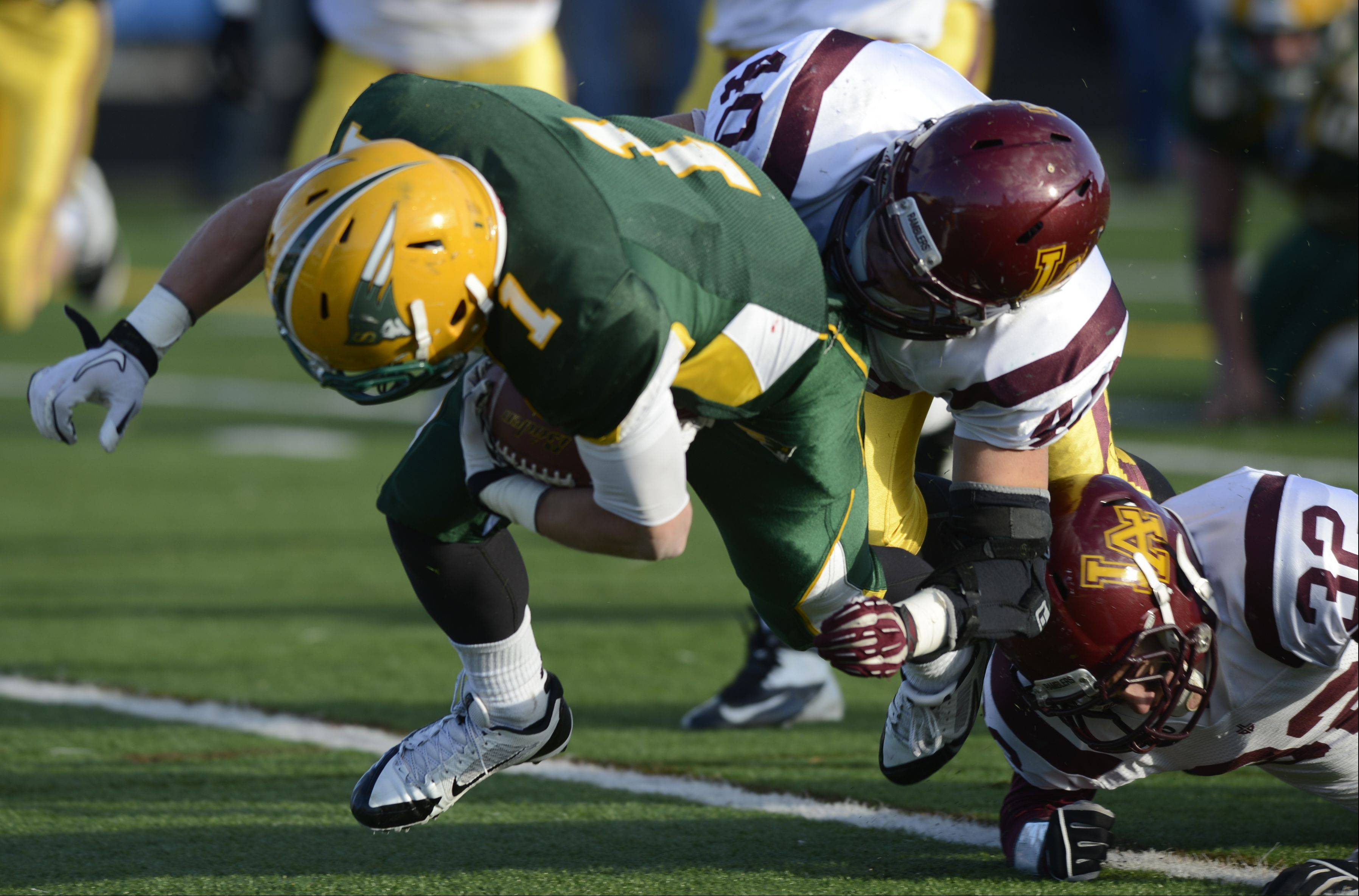 Playoffs � Semifinal � Photos from the Loyola Academy at Stevenson Class 8A football playoff game on Saturday, Nov. 23 in Lincolnshire.