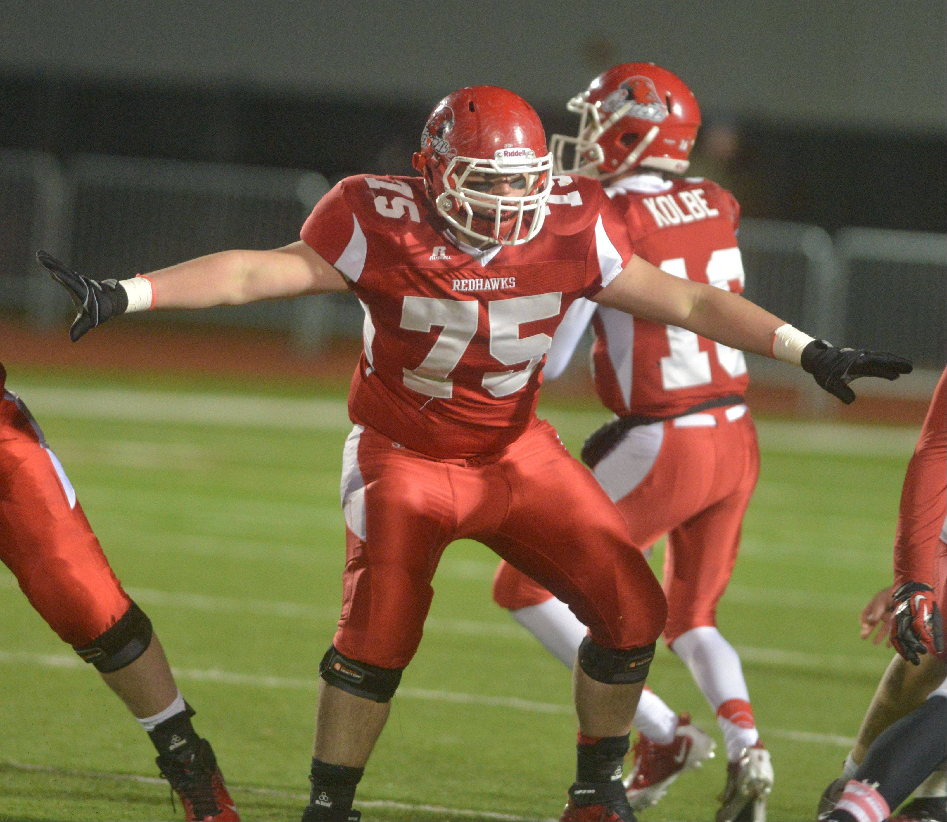 Playoffs -Semifinal- Photos from the Marist at Naperville Central Class 8A playoff football game in Naperville on Saturday, Nov. 23.