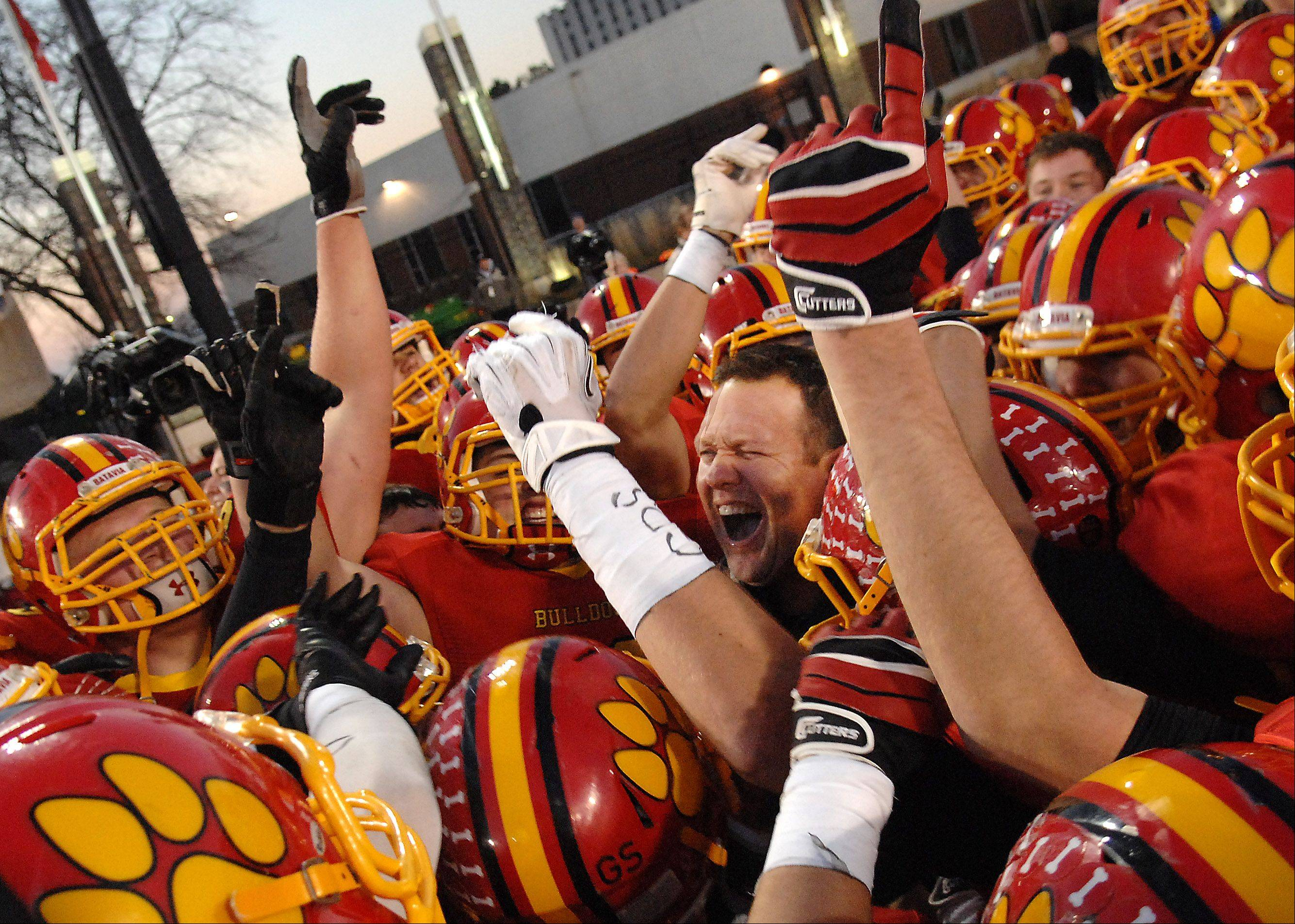 Batavia completes climb to state's best