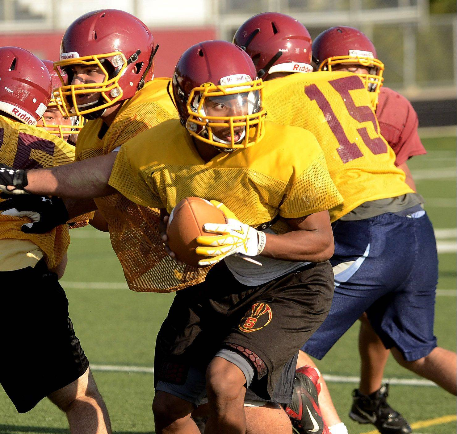 Schaumburg's Smith stands tall in senior season