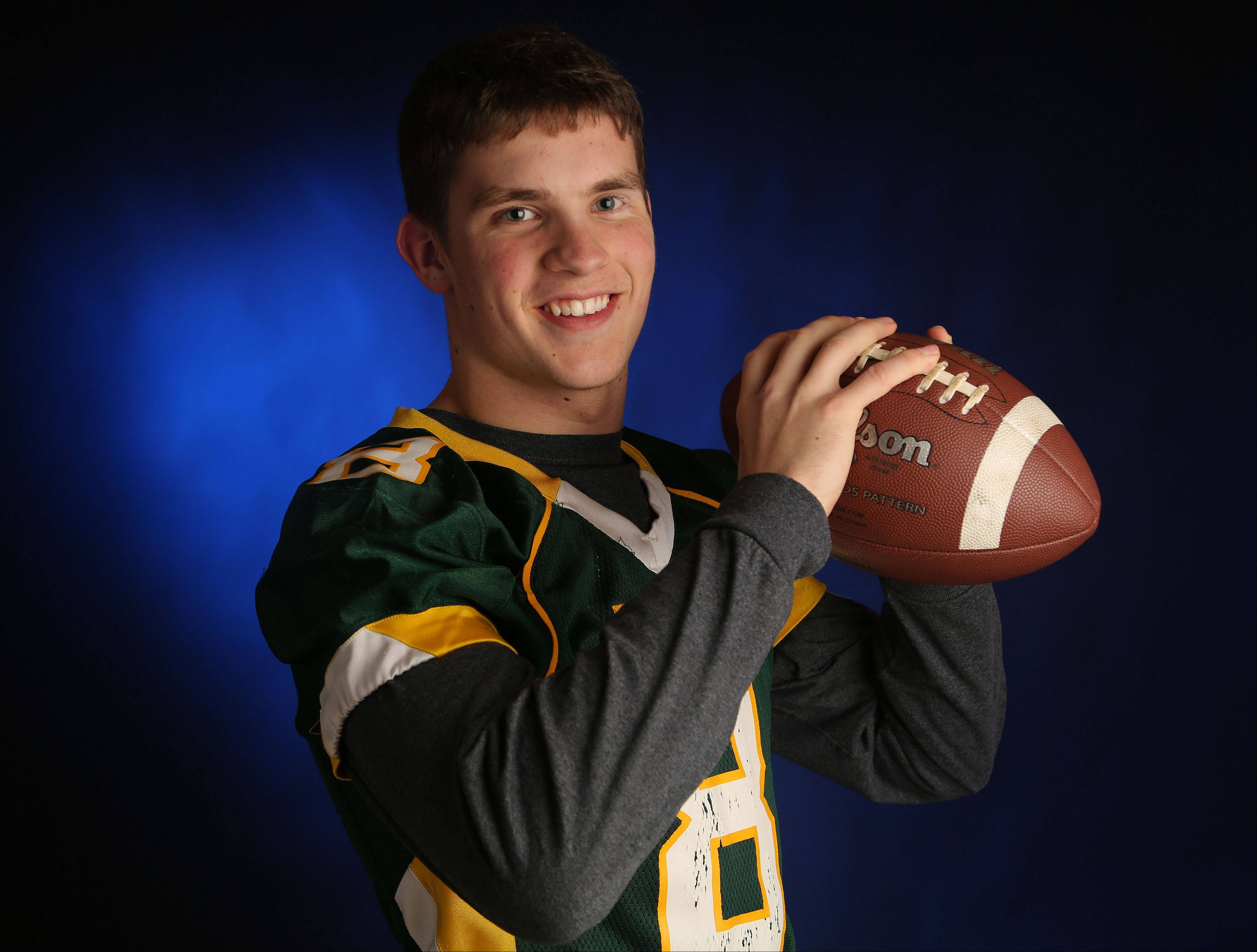 Stevenson wide receiver/safety Matt Morrissey captains of the Daily Herald's all-area football team for Lake County.
