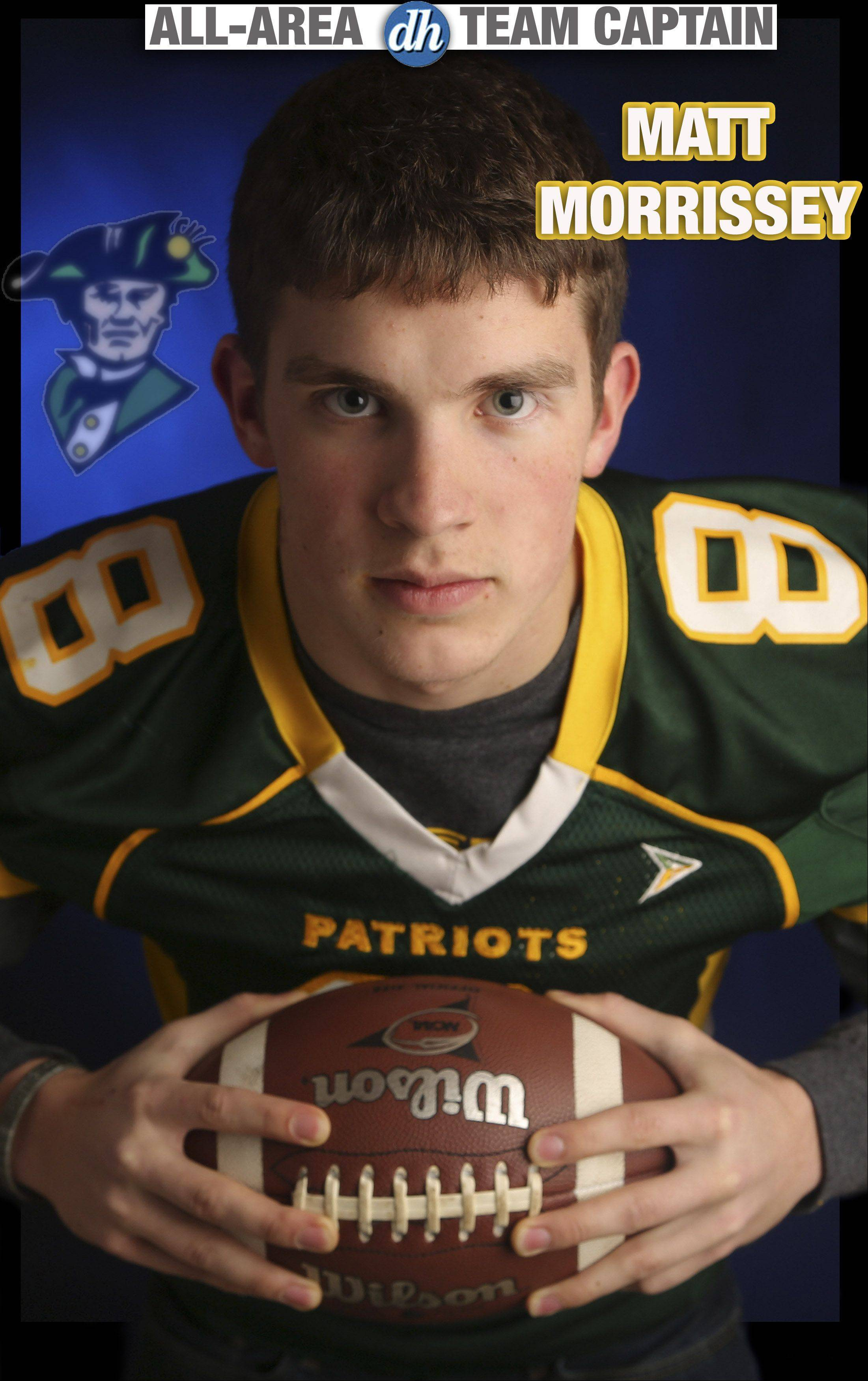 Matt Morrissey of Stevenson is a Daily Herald All-Area Team Captain in football for 2013.