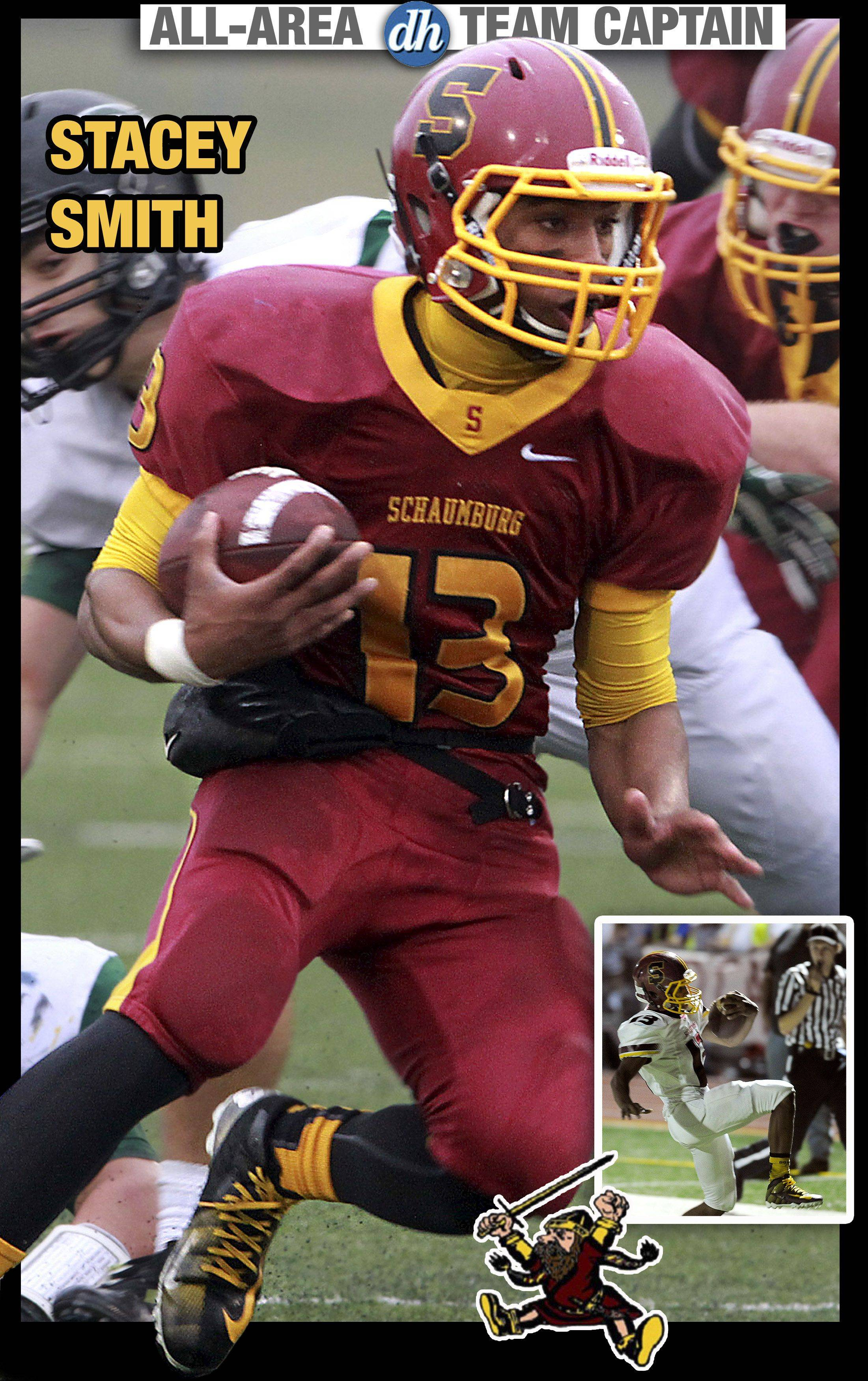 Stacey Smith of Schaumburg is a Daily Herald All-Area Team Captain in football for 2013.