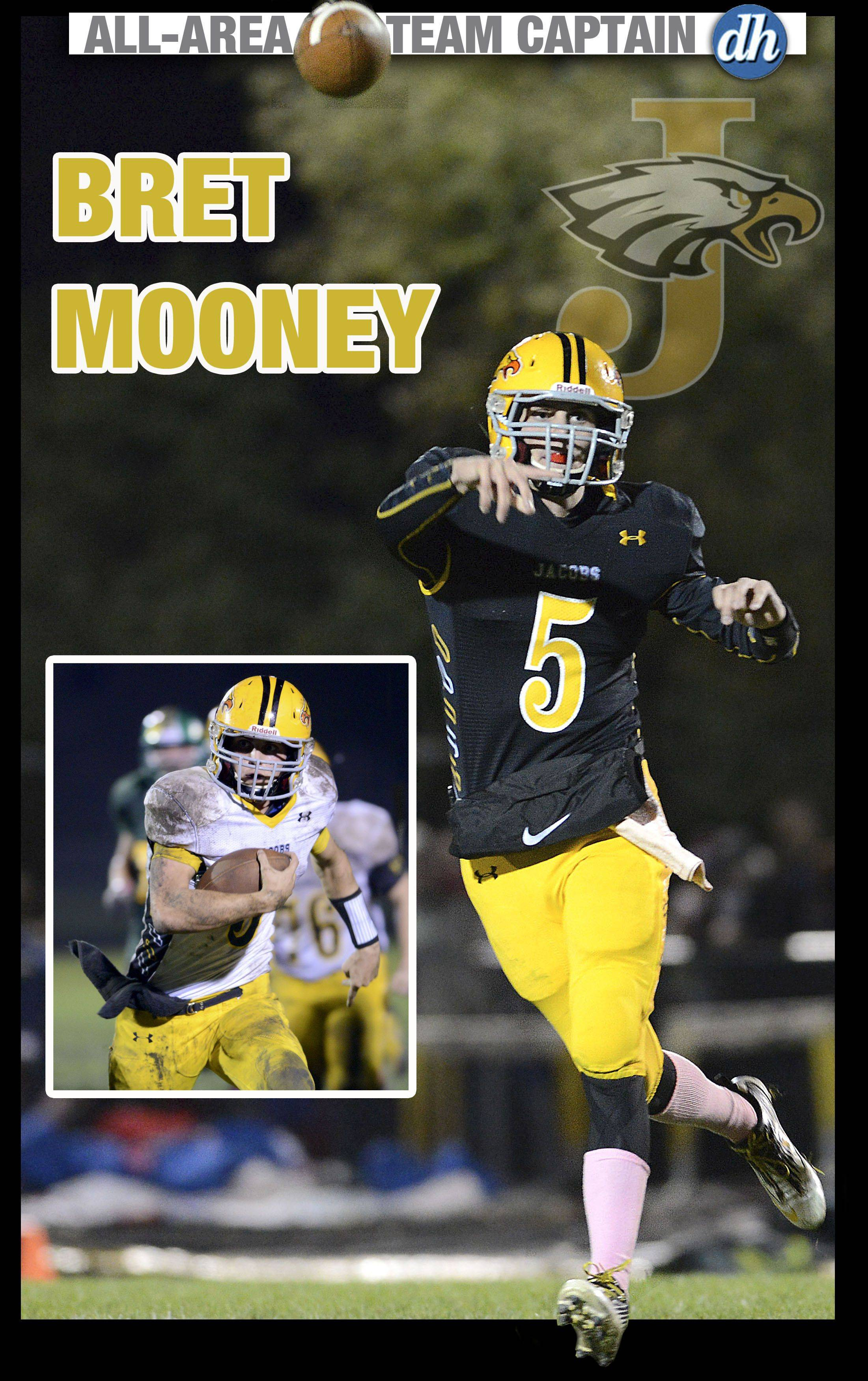 Bret Mooney of Jacobs is a Daily Herald All-Area Team Captain in football for 2013.