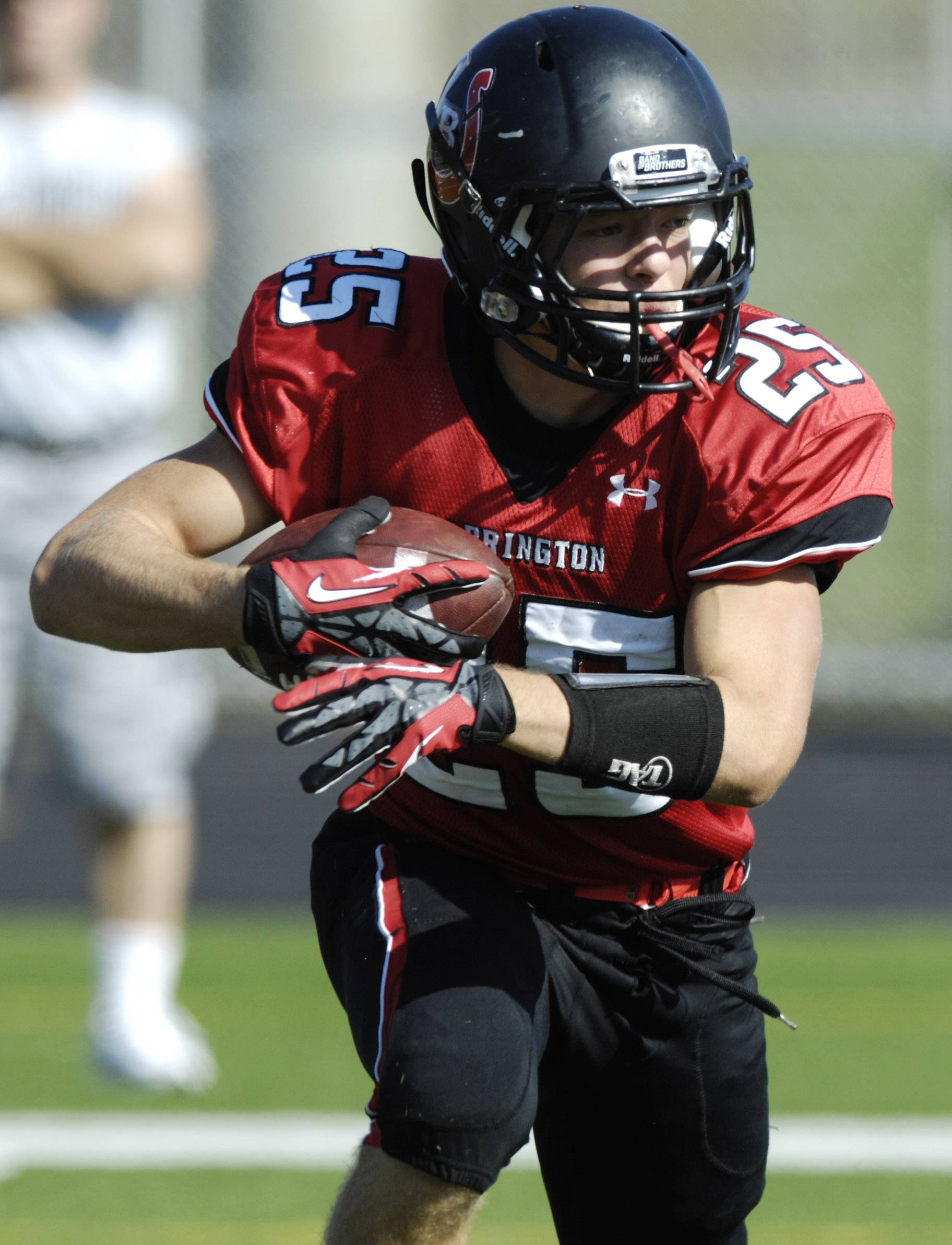 Dylan Abel figures to have a role in a capable and deep Barrington backfield this fall.