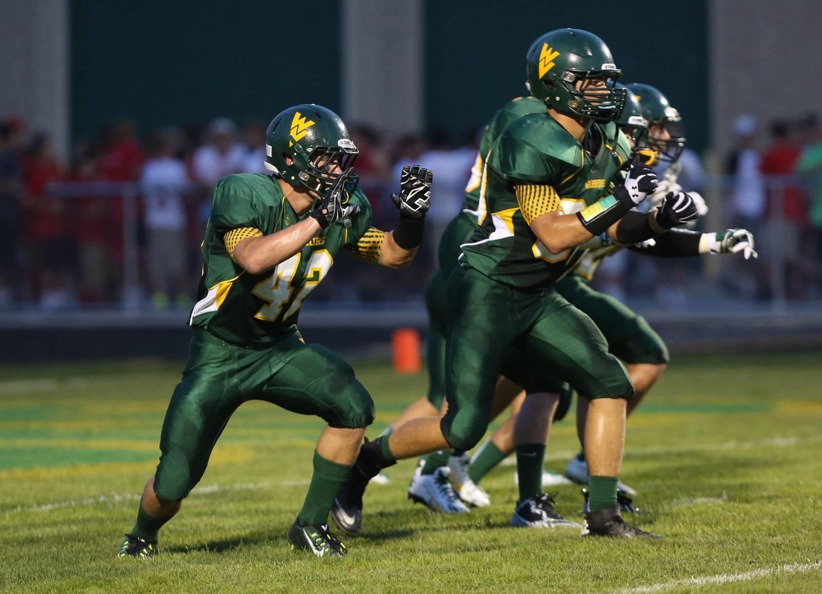 Week -1- Photos from the Naperville Central at Waubonsie Valley football game on Friday, Aug. 29 in Aurora.