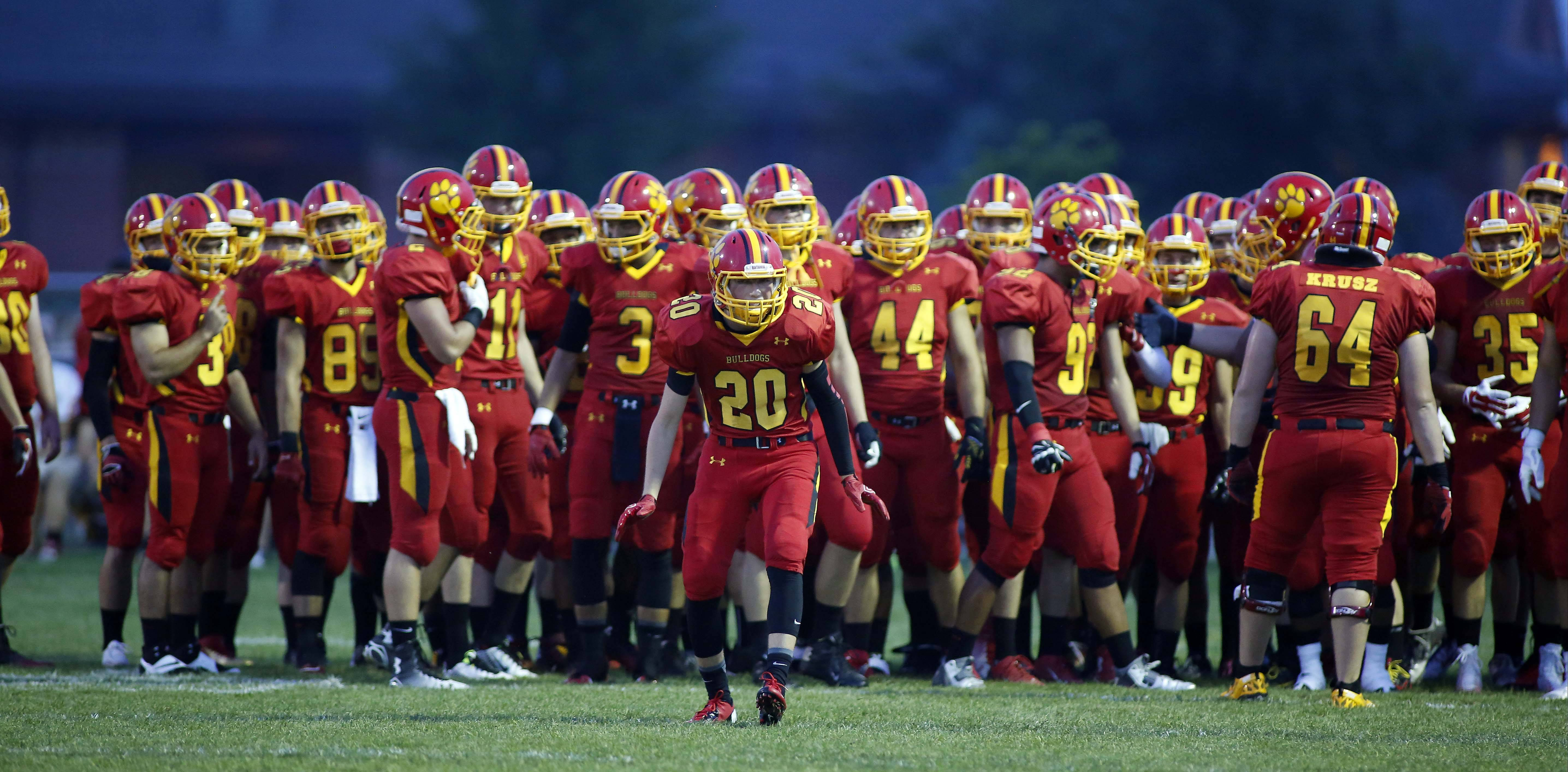 Week -1- Photos from the Oswego at Batavia football game on Friday, Aug. 29 in Batavia.