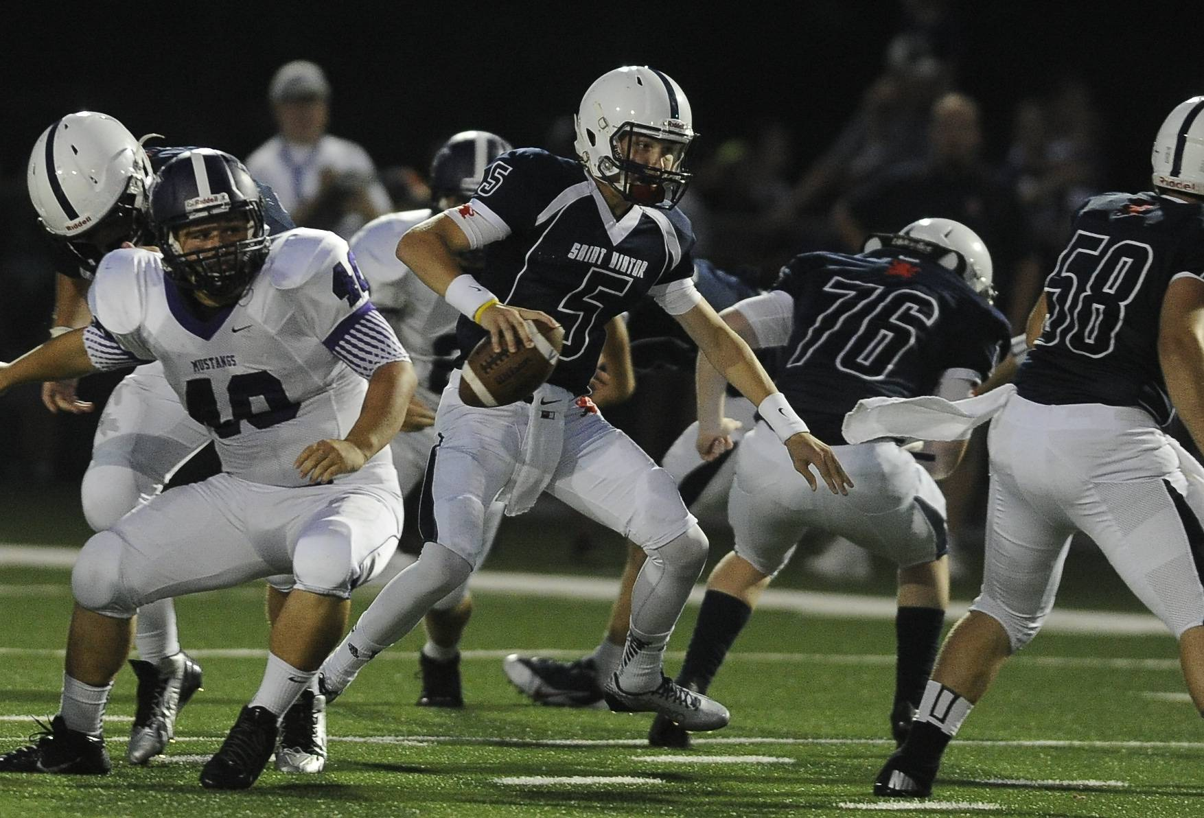 Week -1- Photos from the Rolling Meadows vs. St. Viator football game on Friday, Aug. 29 in Arlington Heights.