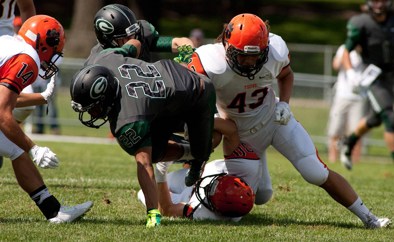 Week -1- Photos from the Wheaton Warrenville South at Glenbard West football game on Saturday, Aug. 30 in Glen Ellyn.