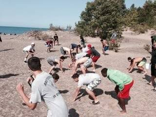 Mundelein's team-building trip to Michigan's Upper Peninsula helped broaden the horizon for many players.
