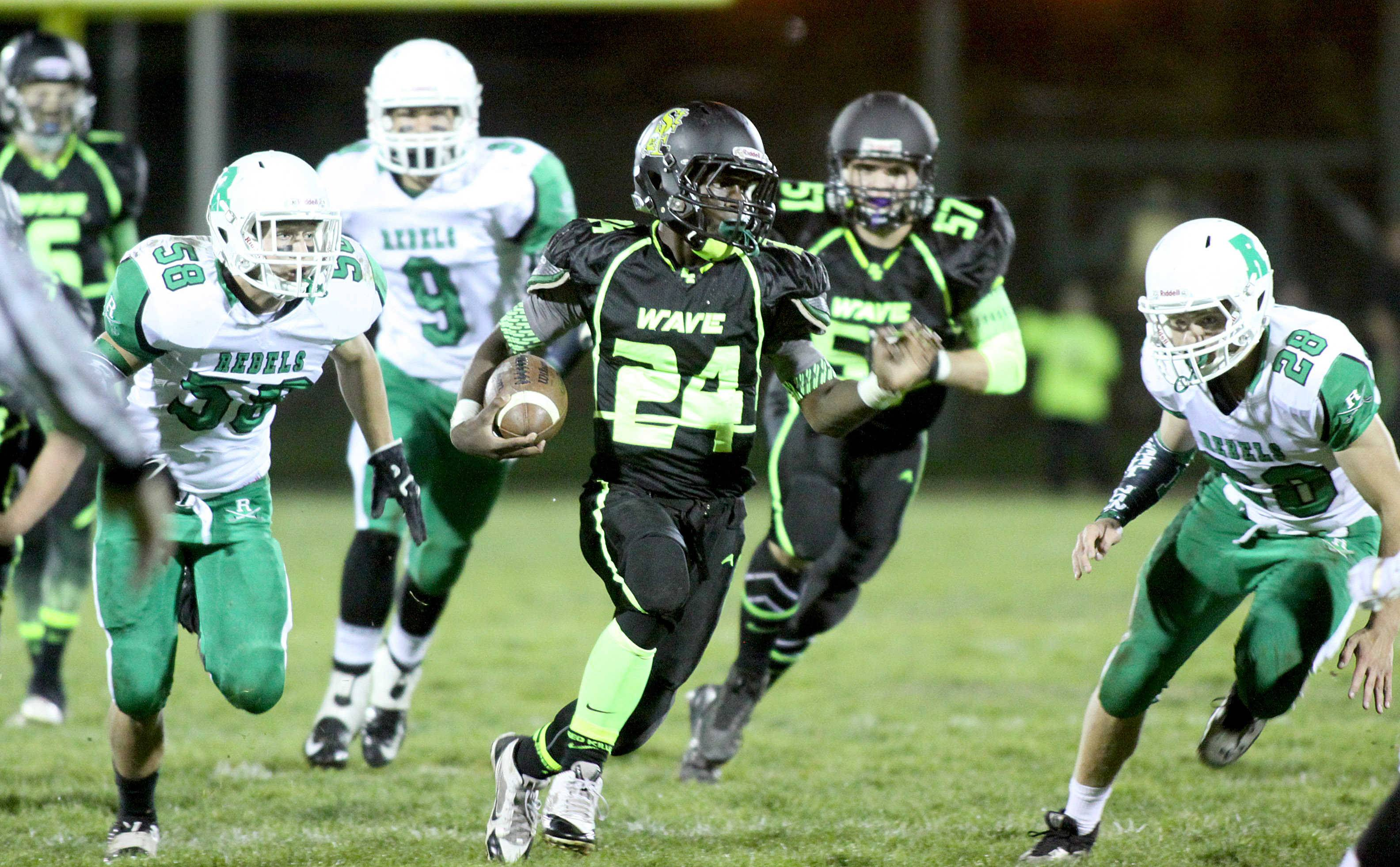 Images: St. Edward vs. Ridgewood football