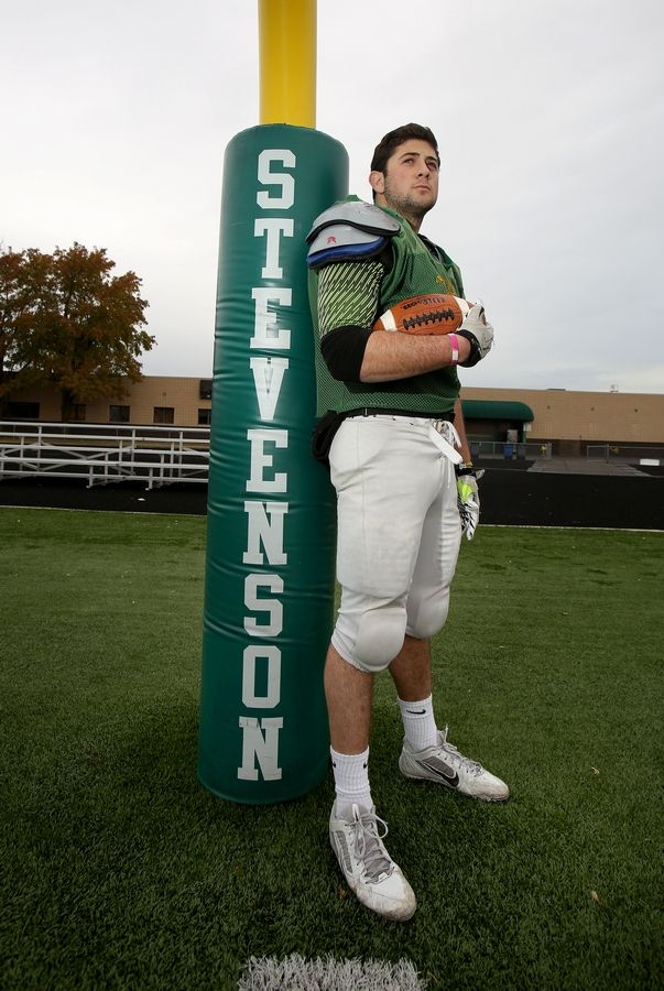 Stevenson running back Jack Joseph will be leading his Patriots into their Round 2 playoff matchup against Loyola on Saturday.