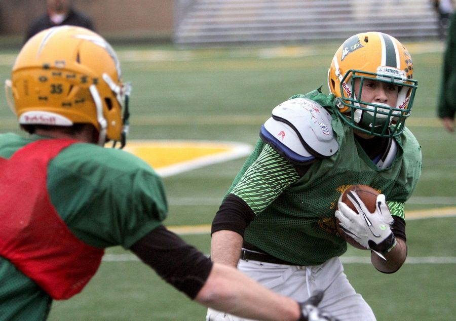Stevenson running back Jack Joseph will be leading his Patriots into their Round 2 playoff matchup against Loyola Saturday.