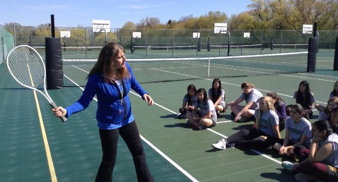 Stevenson High P.E. teacher honored with state award as she prepares to retire